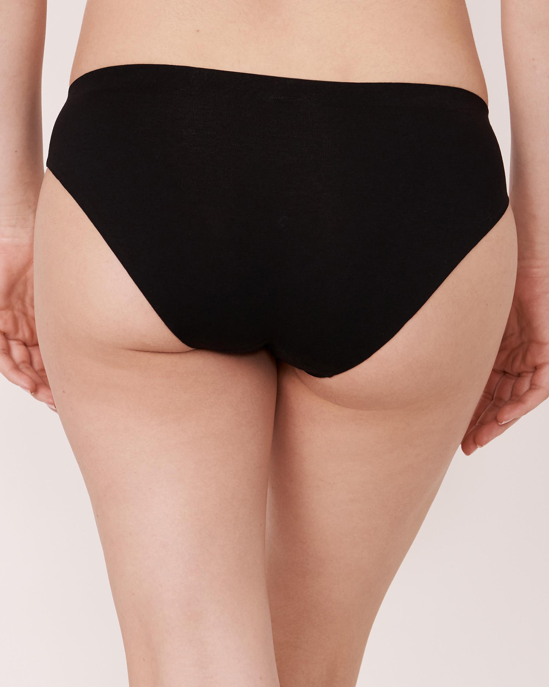 LA VIE EN ROSE Bikini Panty Black 20200061 - View2
