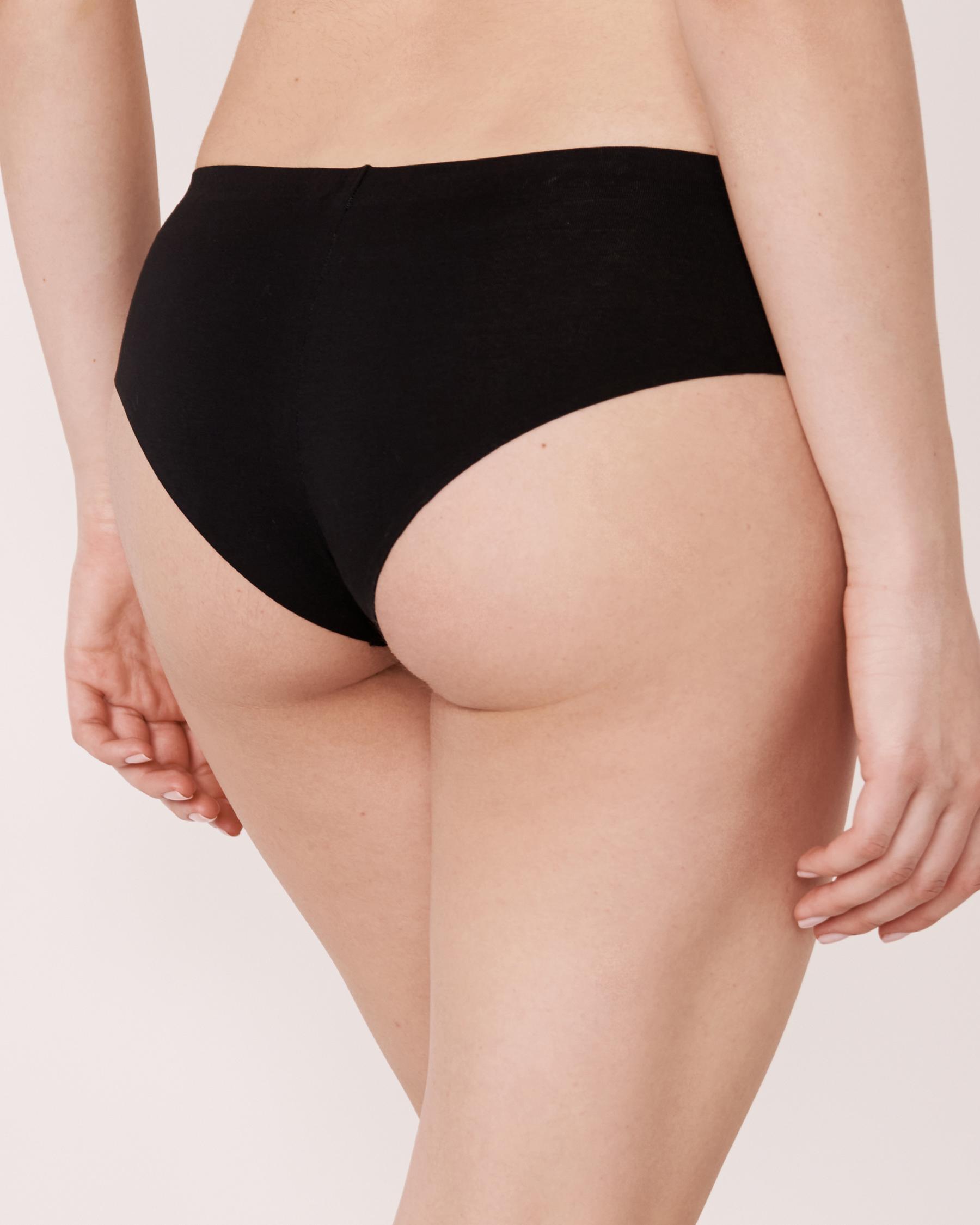 LA VIE EN ROSE Cheeky Panty Black 20200062 - View2