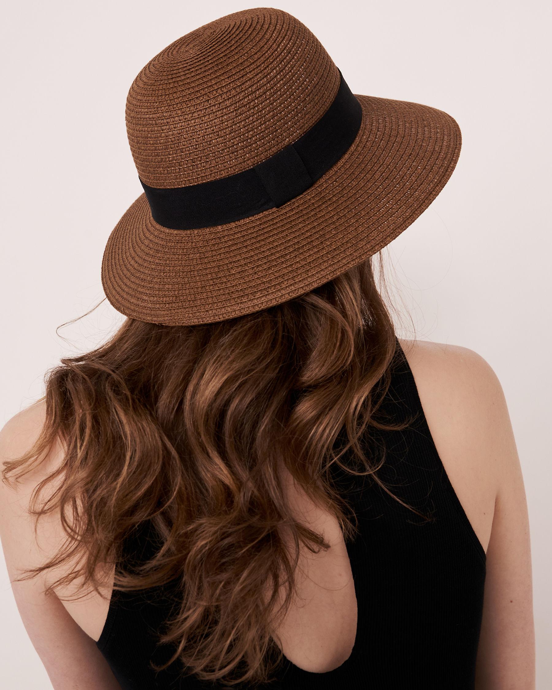 LA VIE EN ROSE AQUA Cloche Hat Dark neutral 80500003 - View2