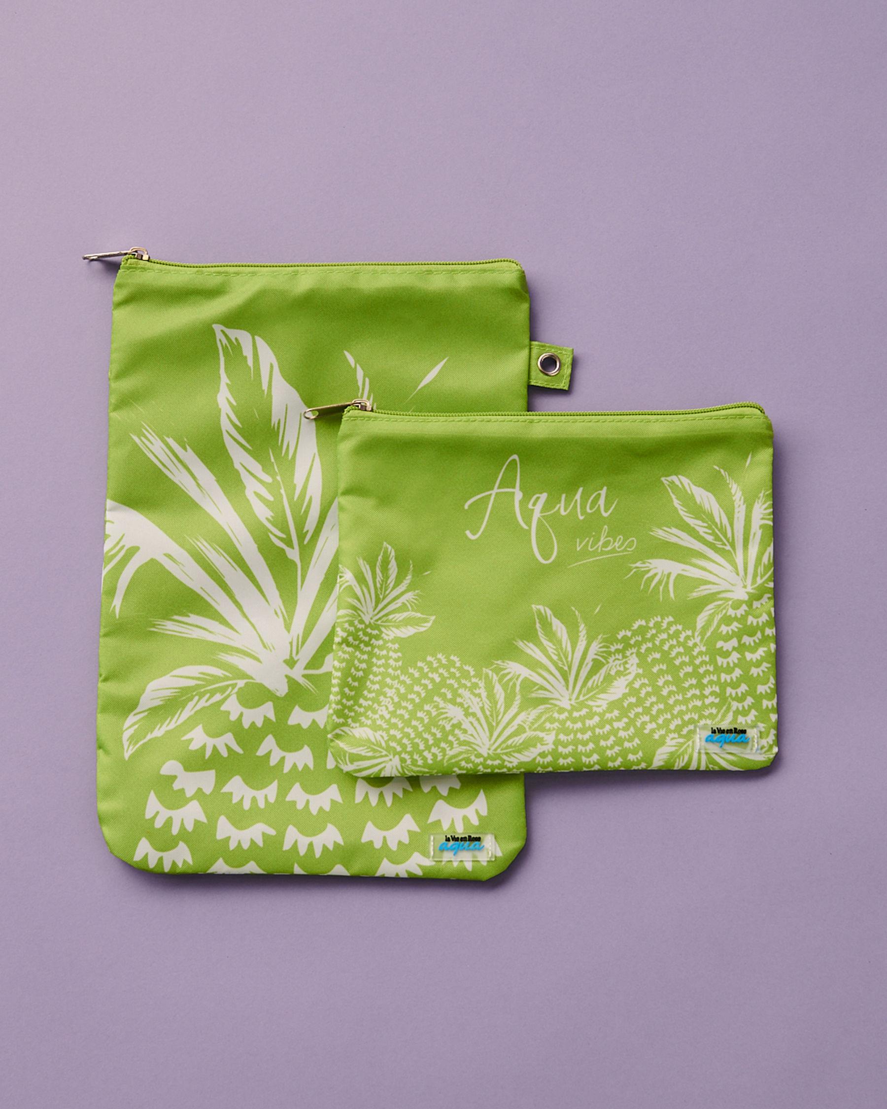 LA VIE EN ROSE AQUA Pineapple Wet Pouch Lime 80500011 - View2