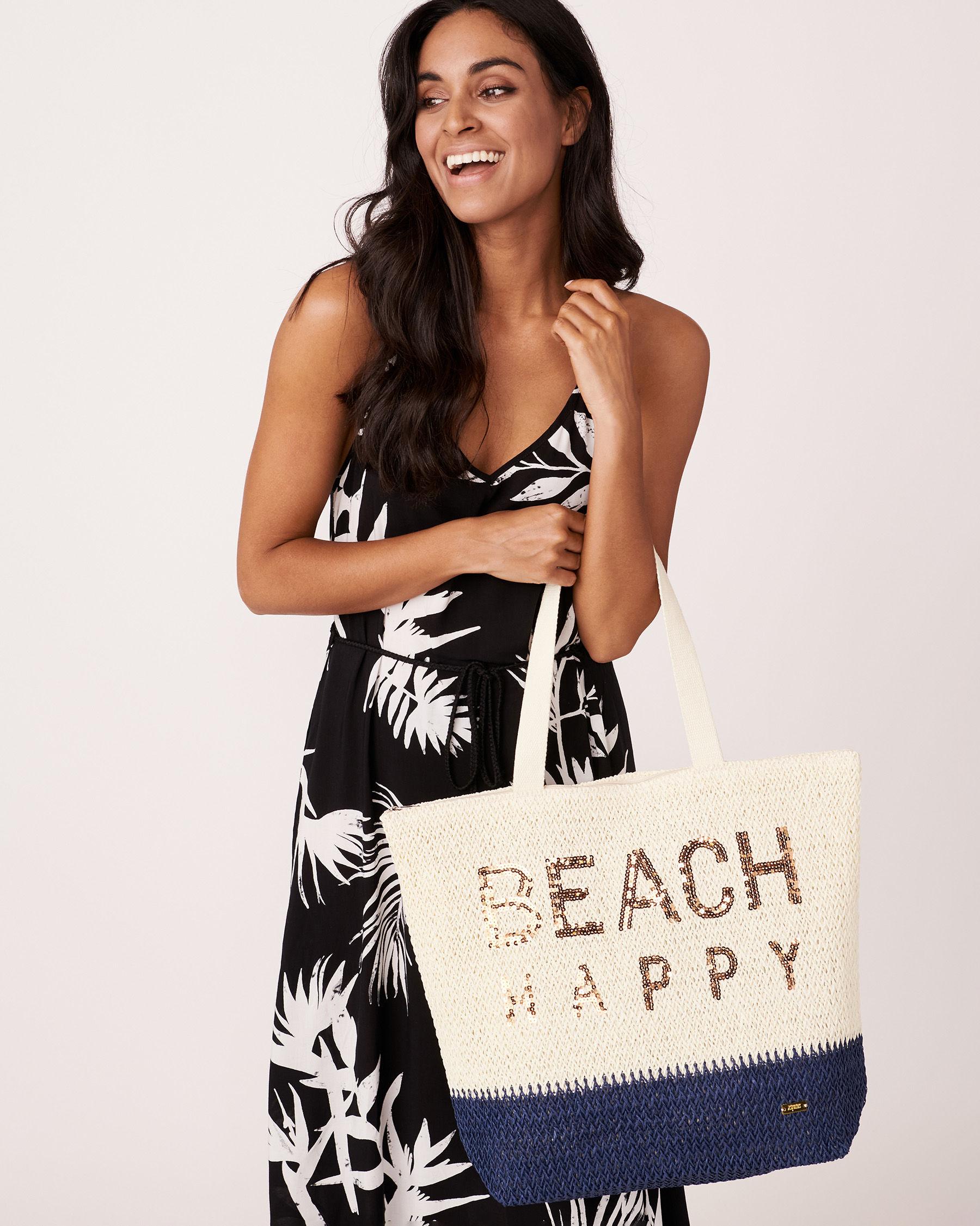 LA VIE EN ROSE AQUA BEACH HAPPY Bag Beige 635-661-0-11 - View1