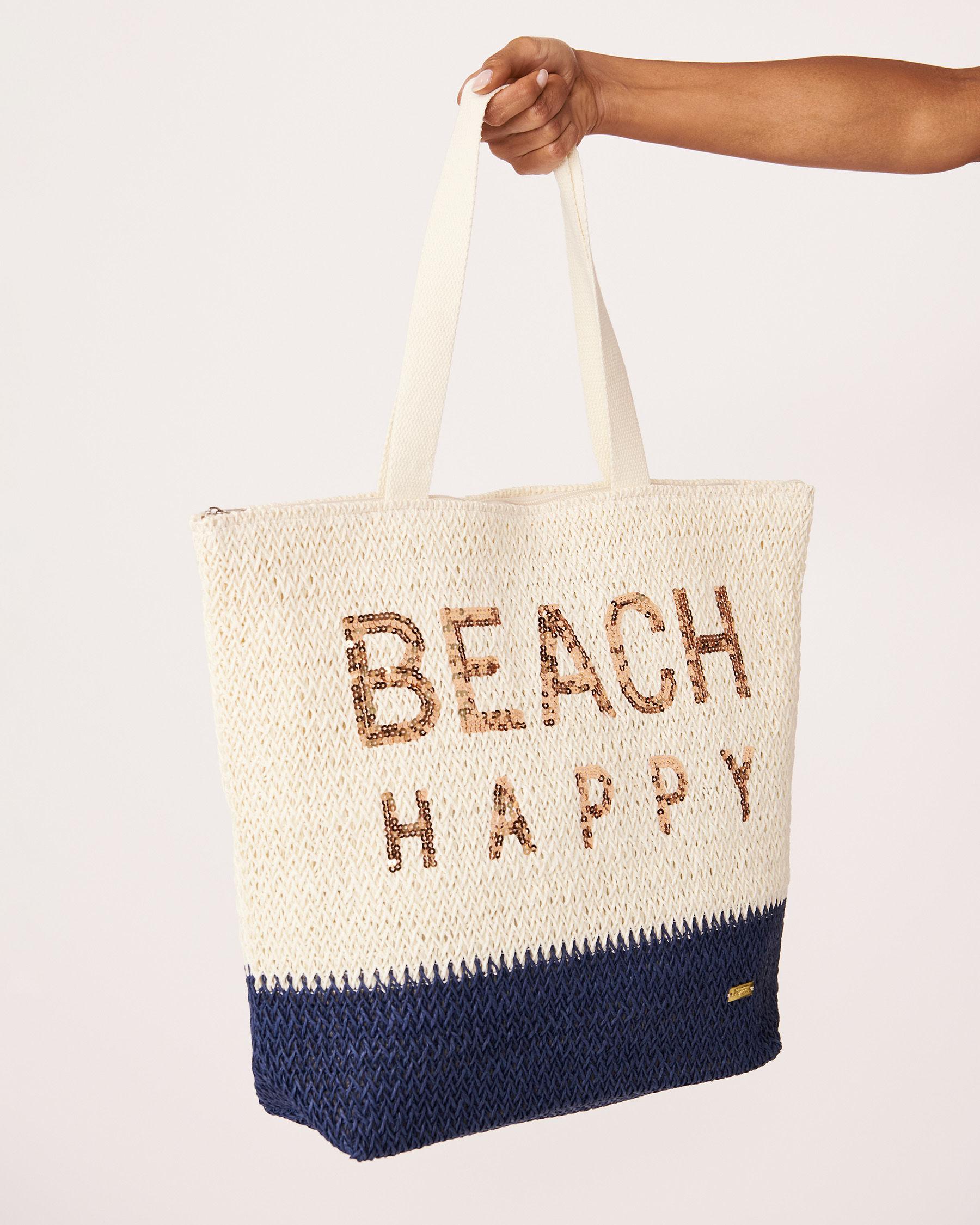 LA VIE EN ROSE AQUA BEACH HAPPY Bag Beige 635-661-0-11 - View2
