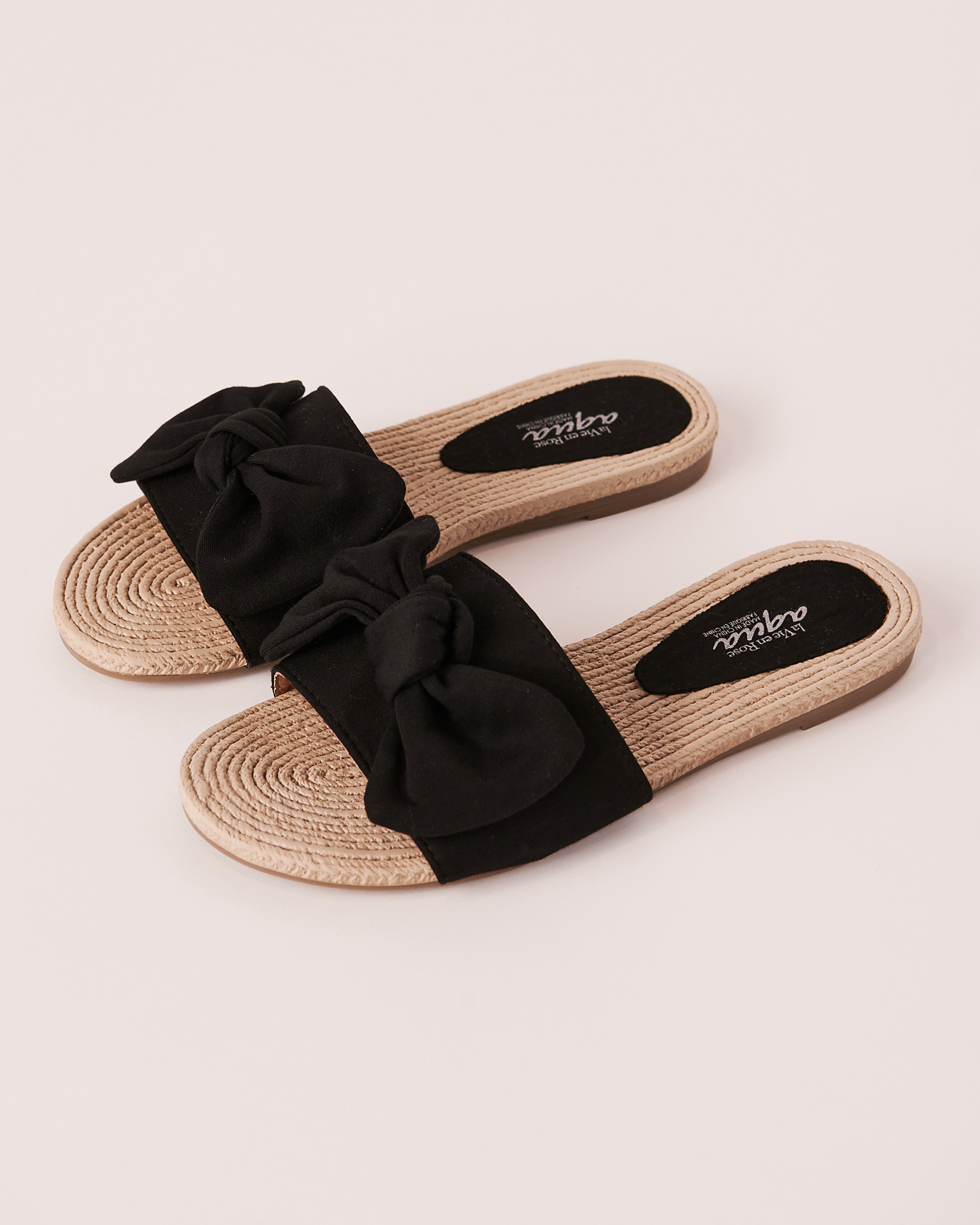 LA VIE EN ROSE AQUA Knot Sandal Neutral 80500027 - View1