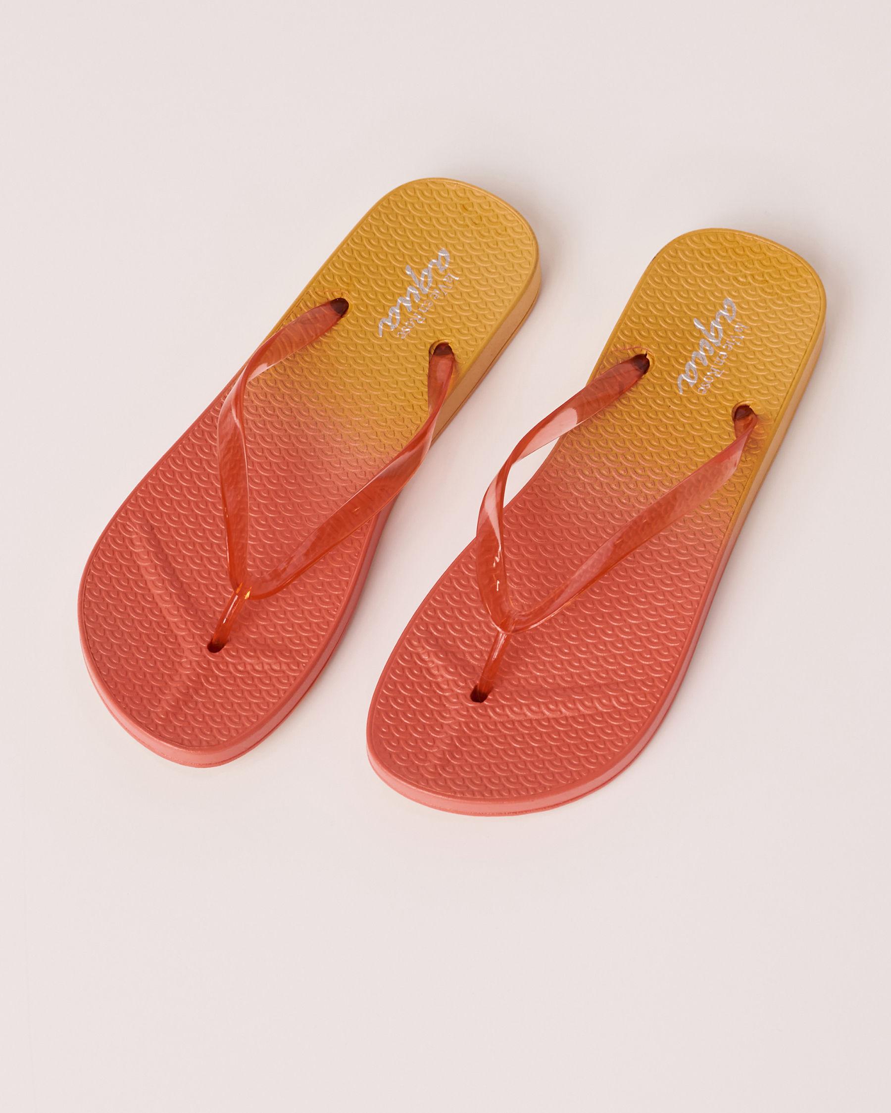 LA VIE EN ROSE AQUA Neon Sandal Yellow 80500013 - View1