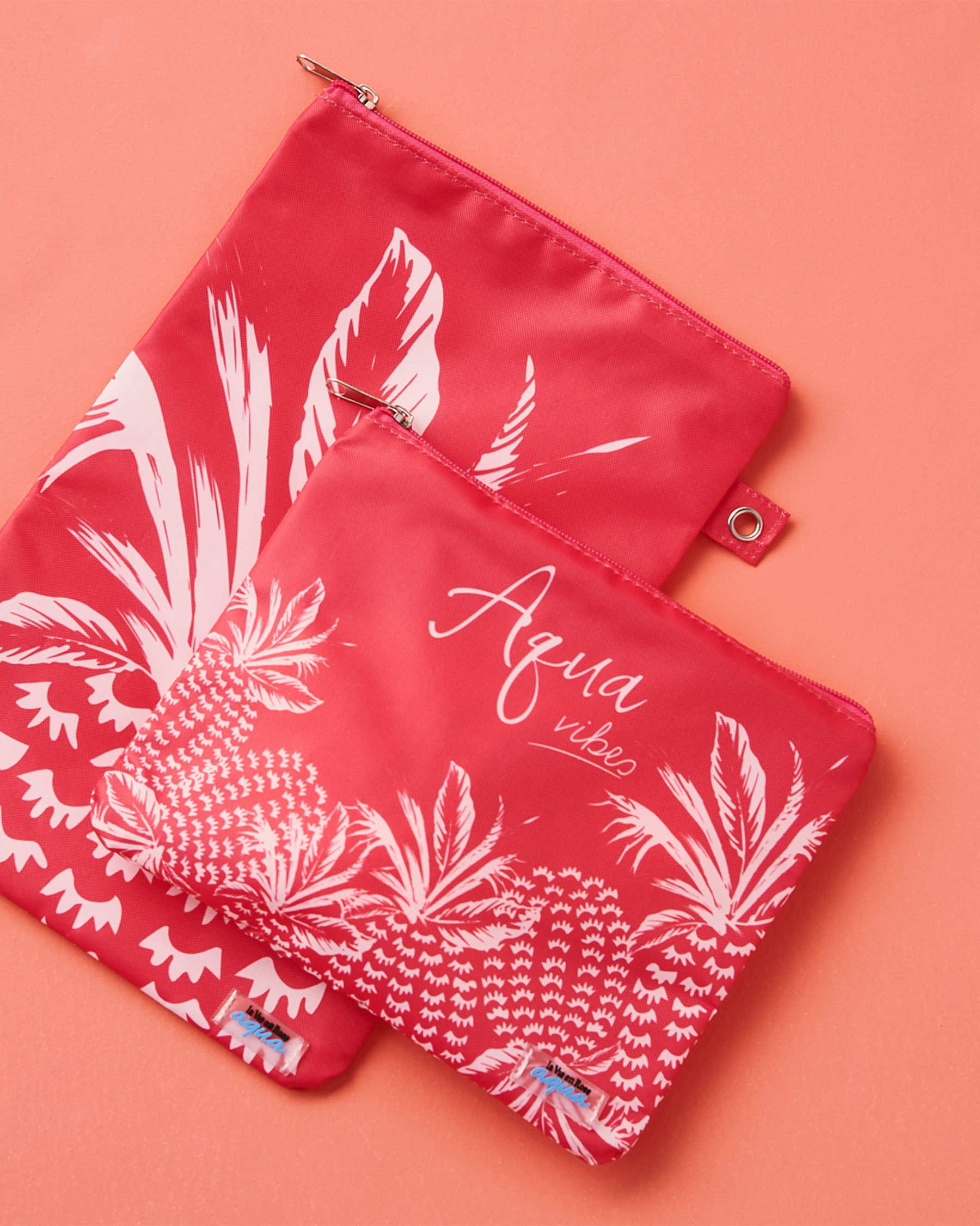LA VIE EN ROSE AQUA Pineapple Wet Pouch Pink 80500011 - View1