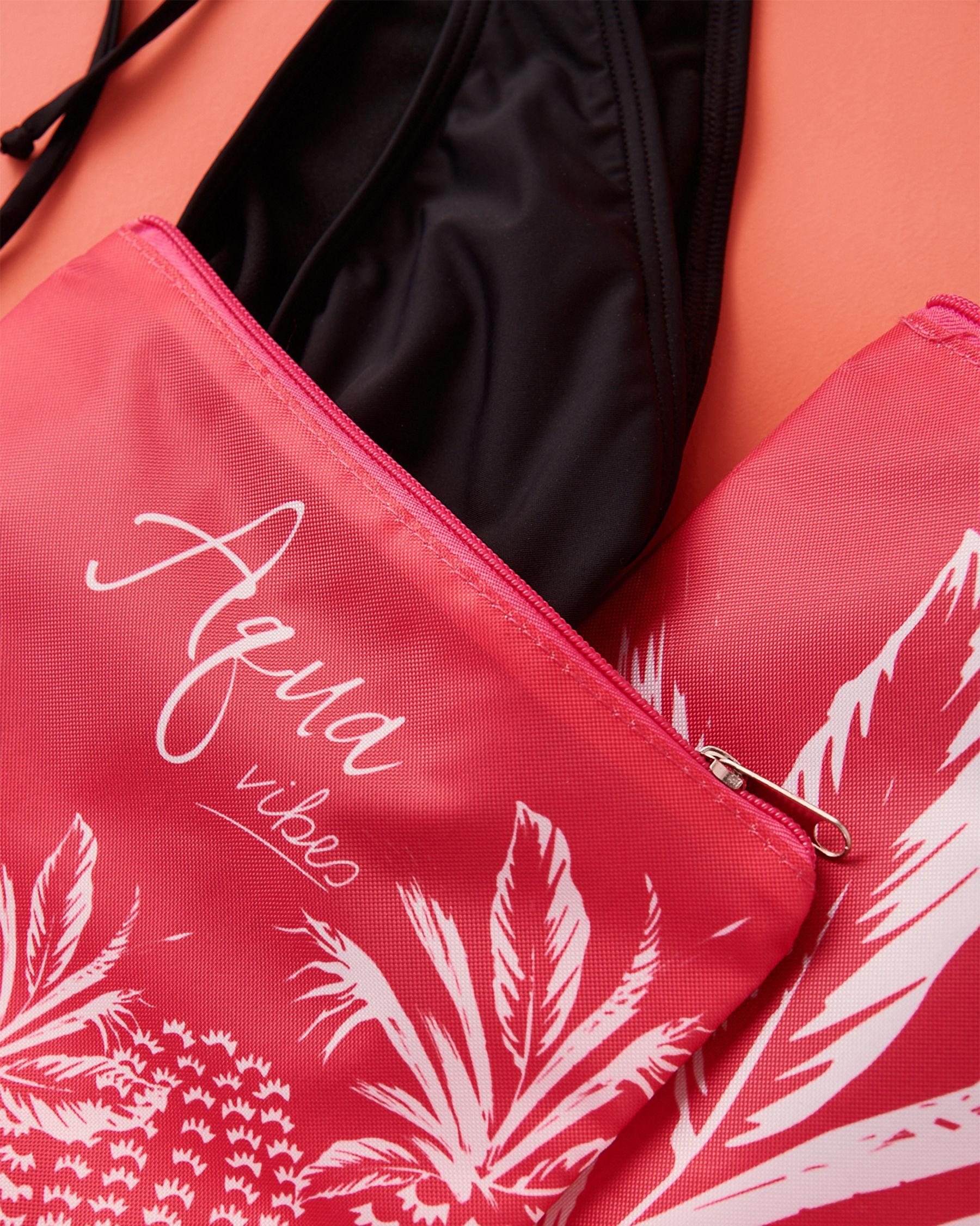 LA VIE EN ROSE AQUA Pineapple Wet Pouch Pink 80500011 - View2
