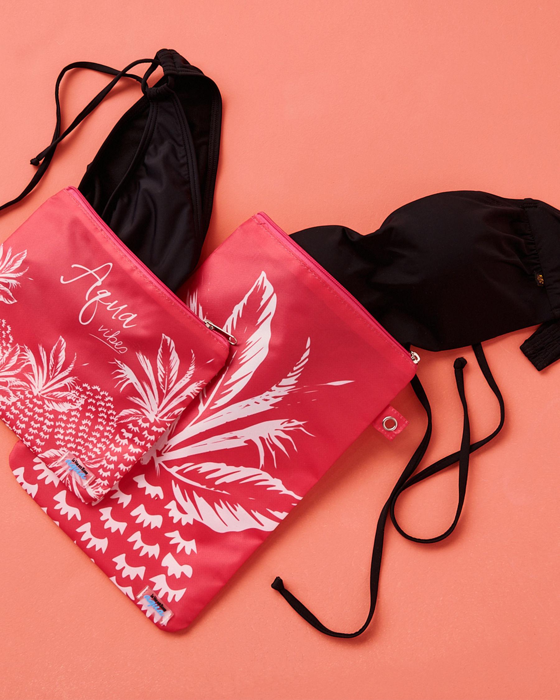 LA VIE EN ROSE AQUA Pineapple Wet Pouch Pink 80500011 - View3