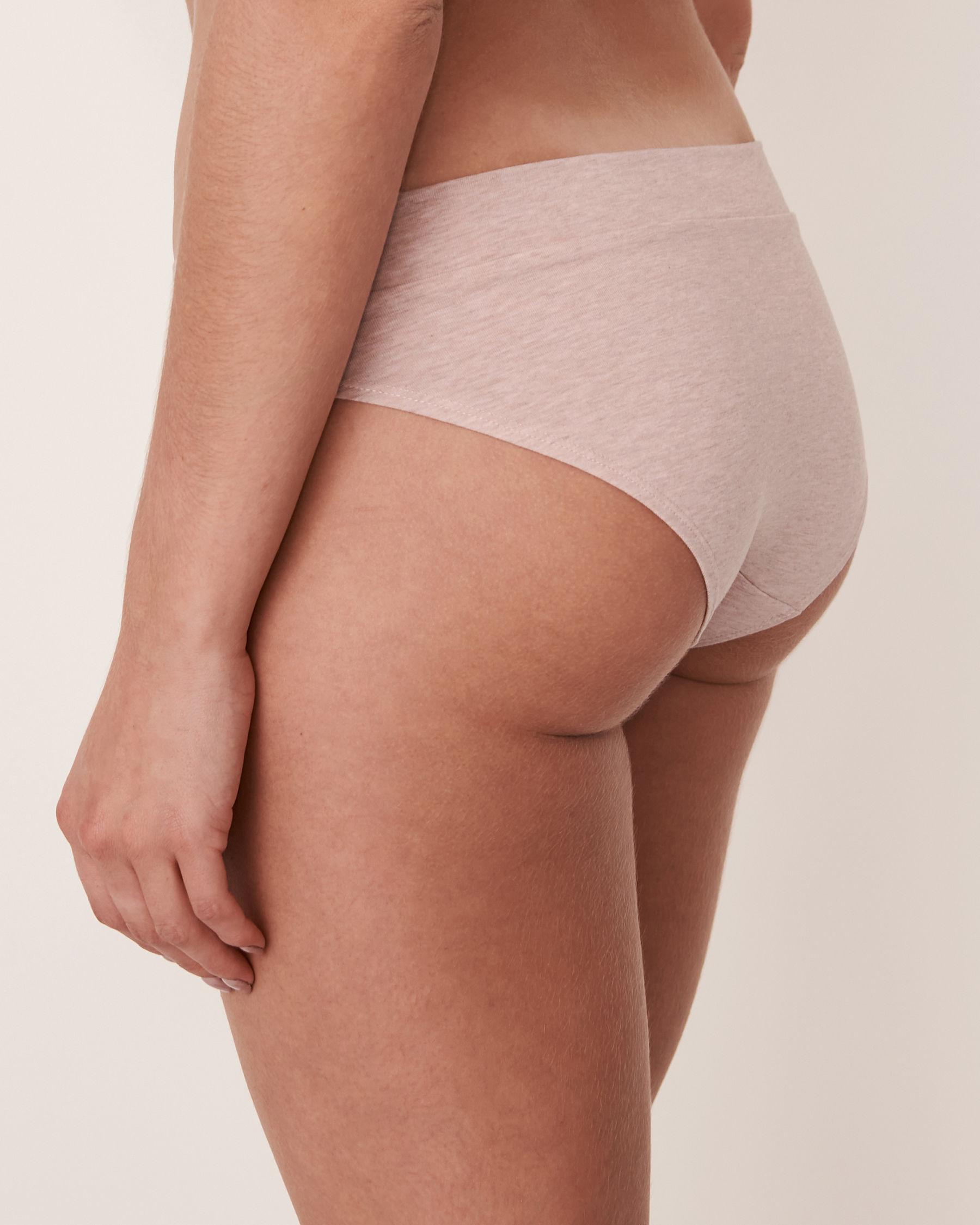 LA VIE EN ROSE Culotte bikini Mélange de gris 20100044 - Voir2