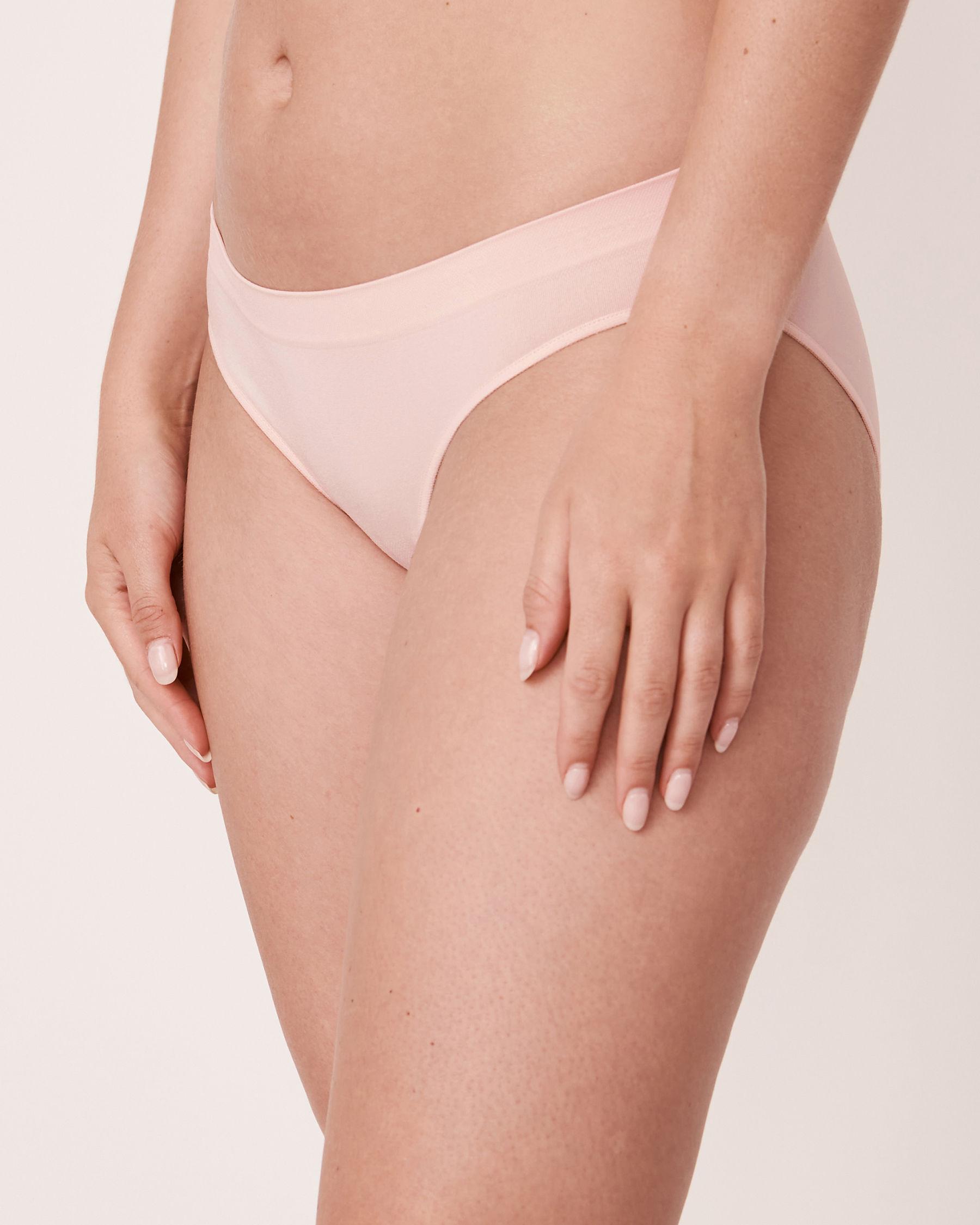 LA VIE EN ROSE Seamless Bikini Panty Light pink 20200037 - View1