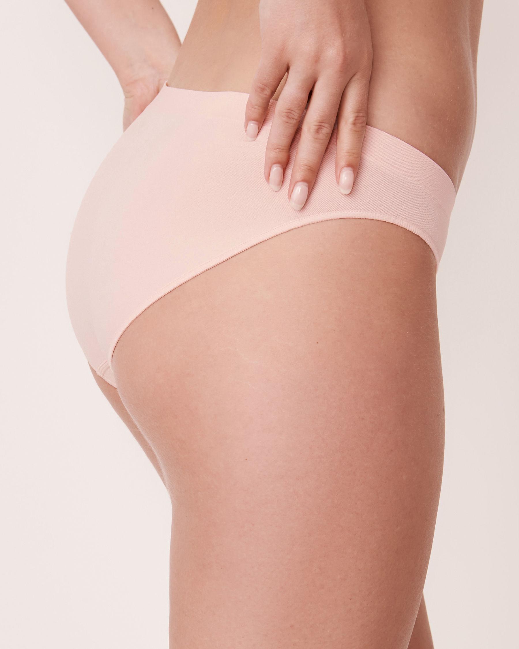 LA VIE EN ROSE Seamless Bikini Panty Light pink 20200037 - View2