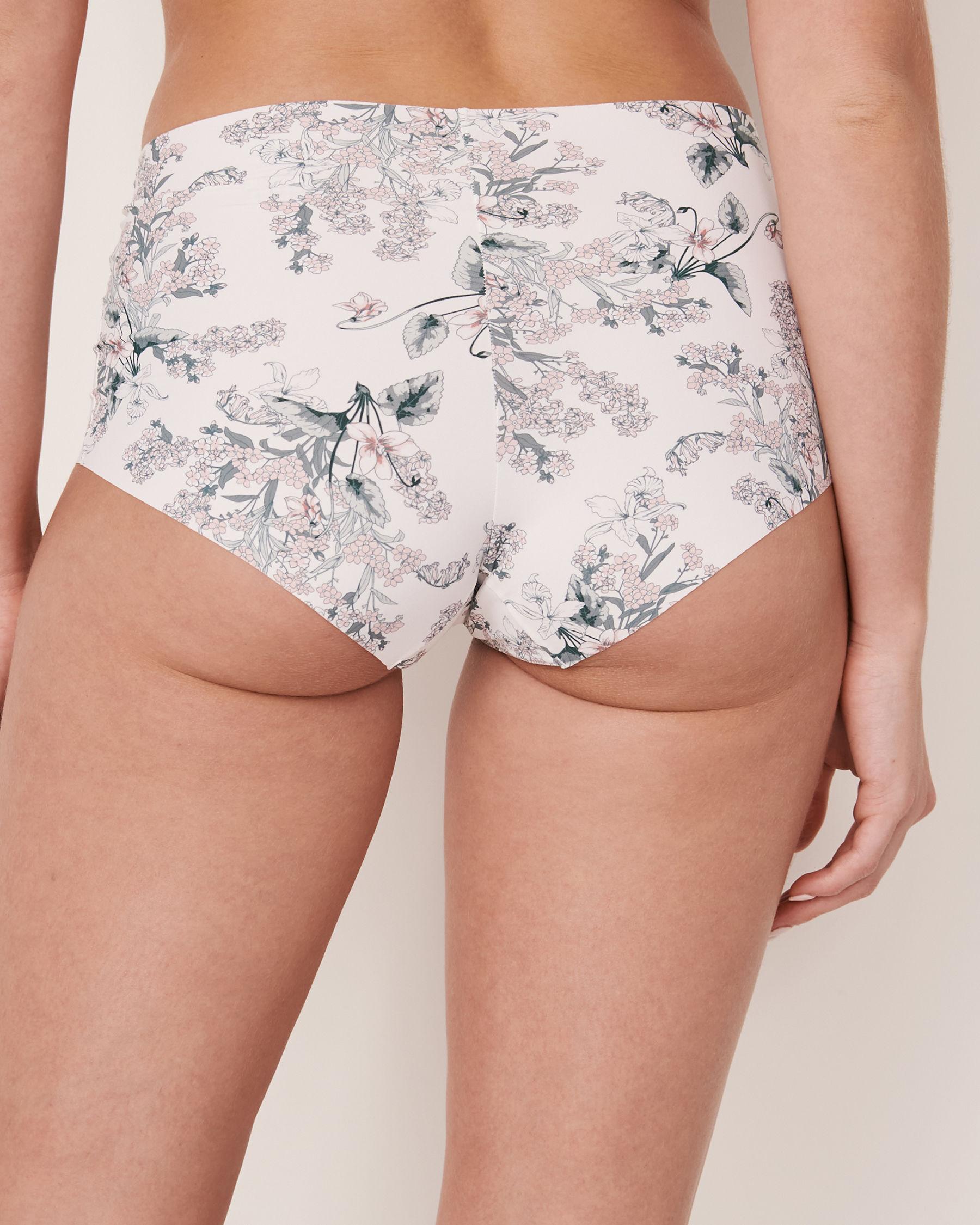 LA VIE EN ROSE Seamless High Waist Bikini Panty Flower bouquet 20200050 - View2