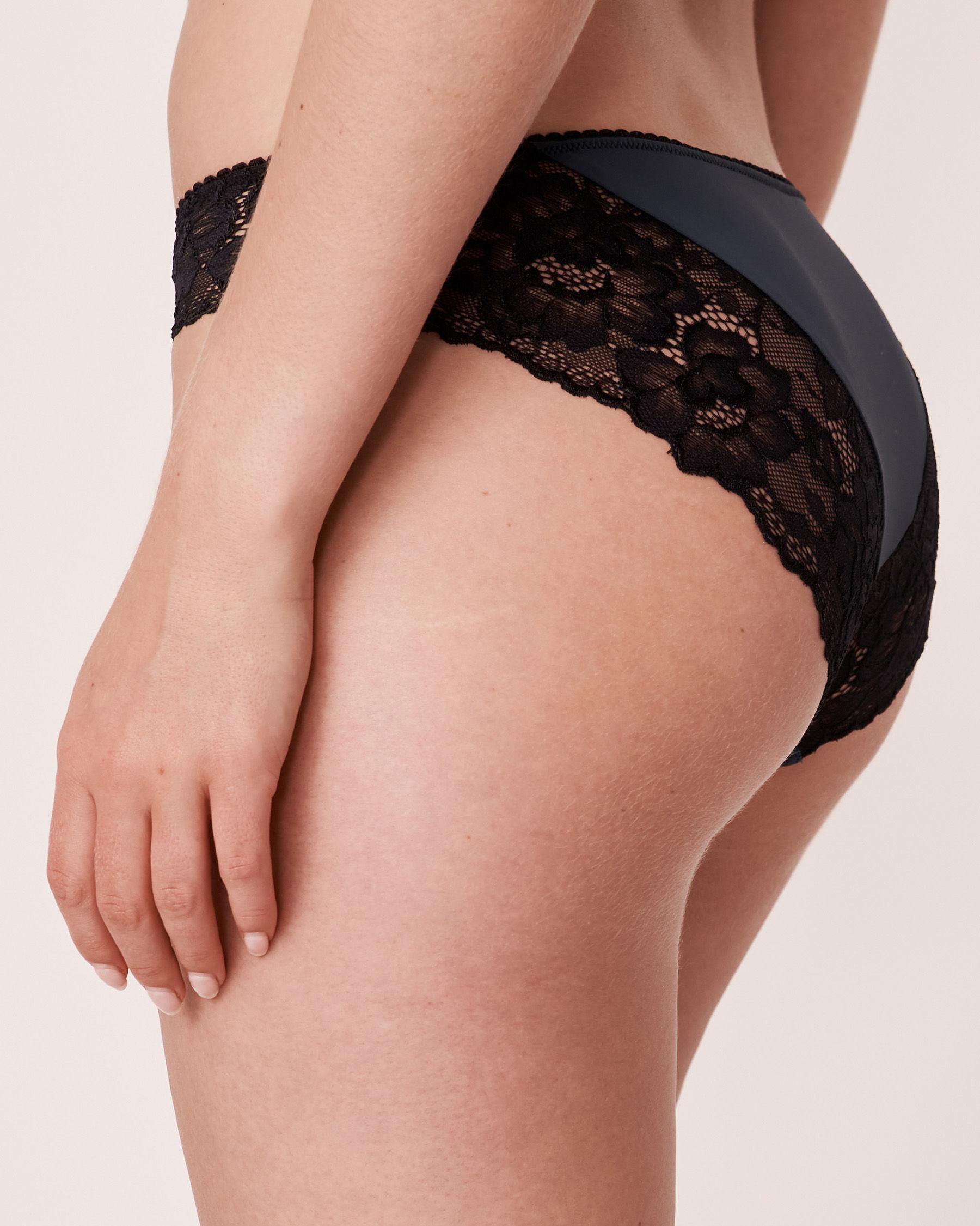 LA VIE EN ROSE Bikini Panty Navy 20200052 - View2