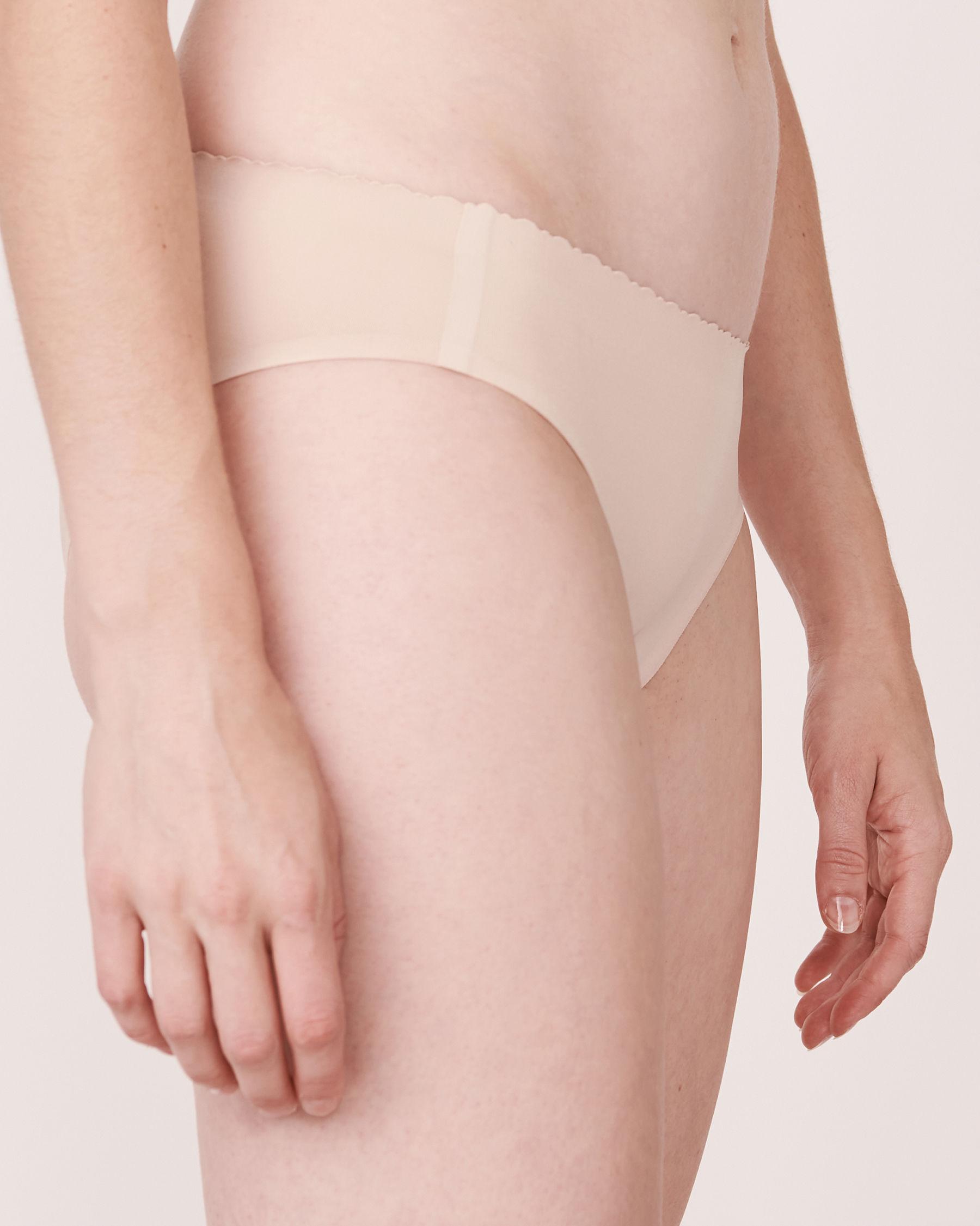 LA VIE EN ROSE Culotte bikini sans coutures Neutre 712-122-0-00 - Voir1