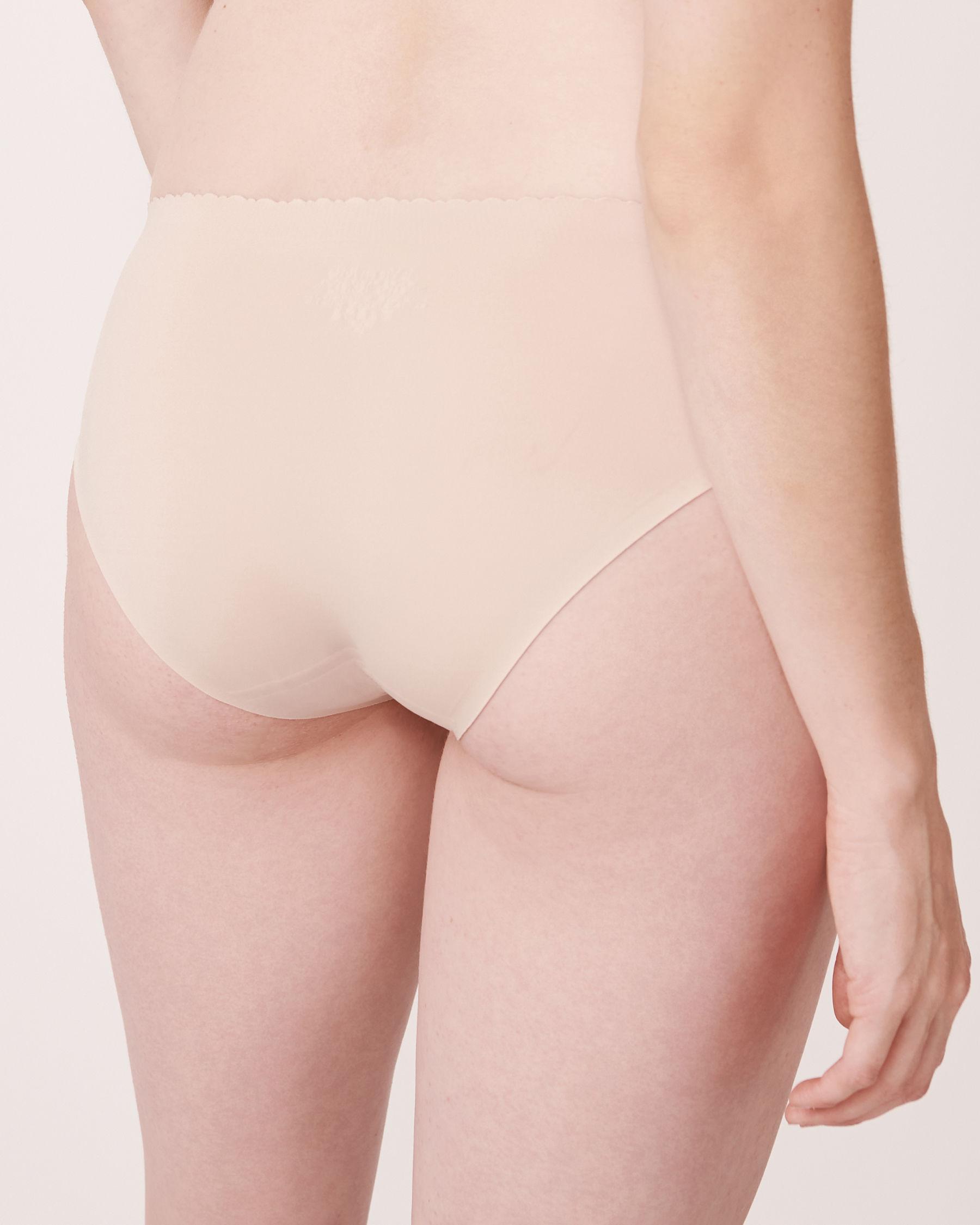LA VIE EN ROSE Culotte bikini sans coutures Neutre 712-122-0-00 - Voir2