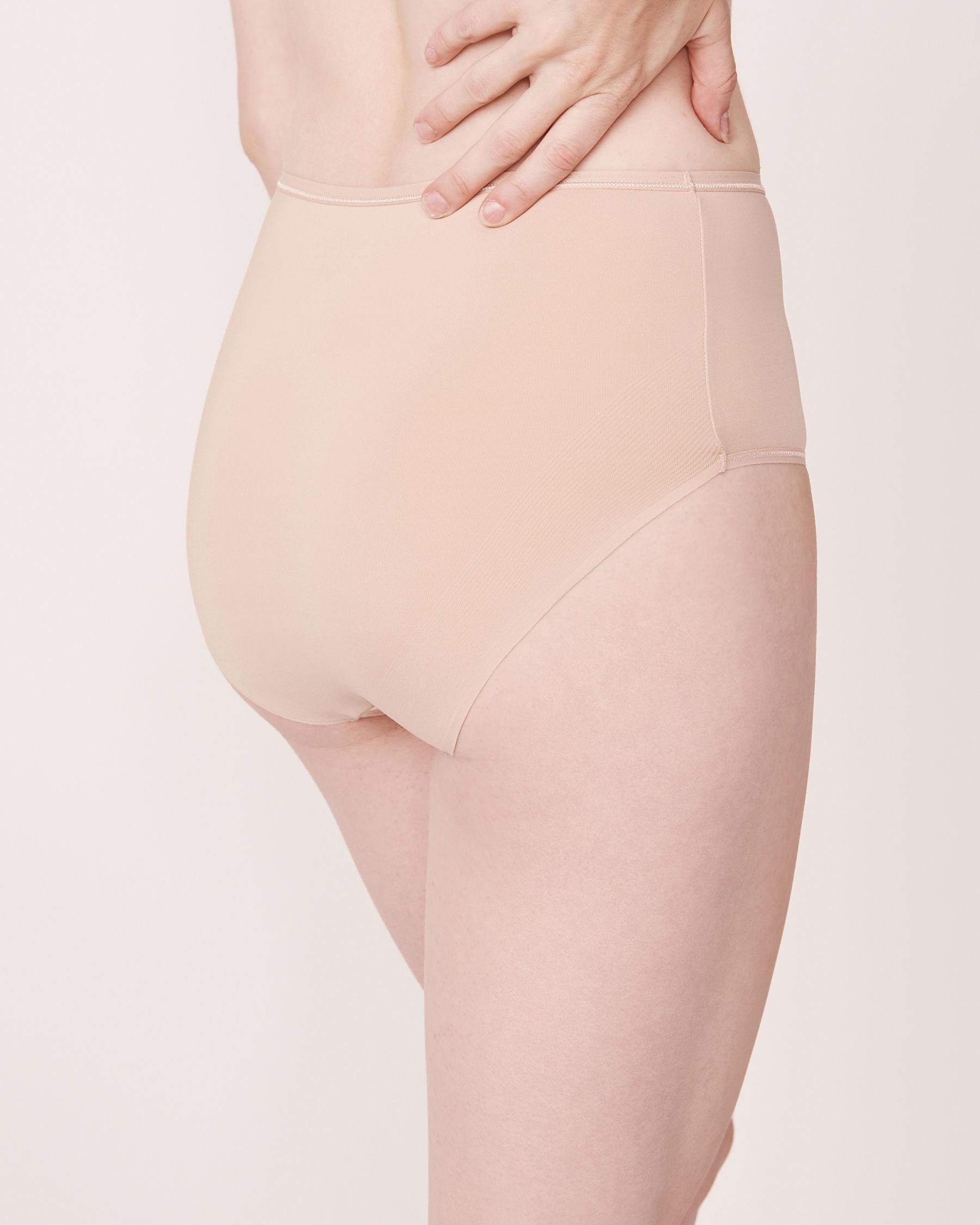 LA VIE EN ROSE Culotte bikini taille haute Neutre 169-122-1-00 - Voir2