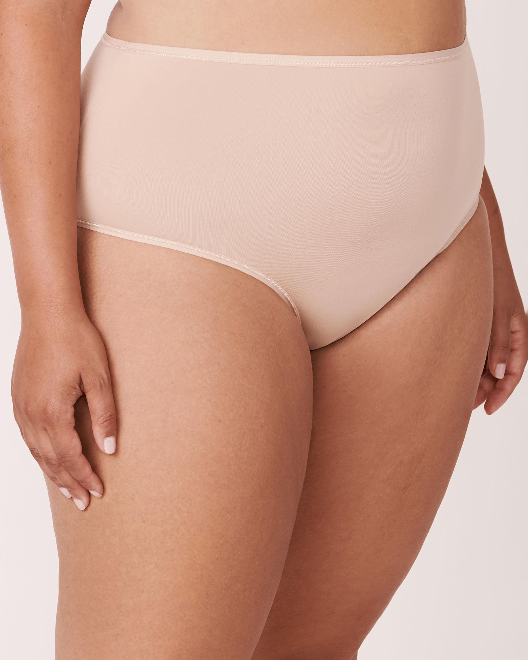 LA VIE EN ROSE Culotte bikini taille haute Neutre 169-122-1-00 - Voir4