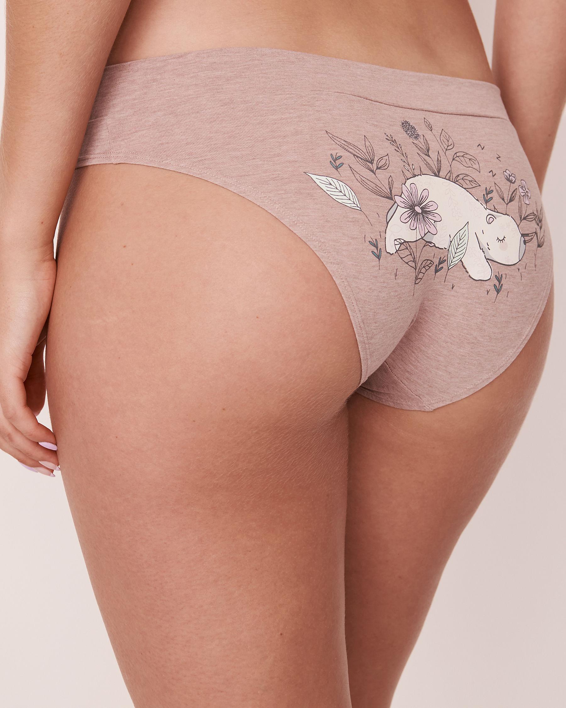 LA VIE EN ROSE Bikini Panty Mauve mix 20100065 - View1