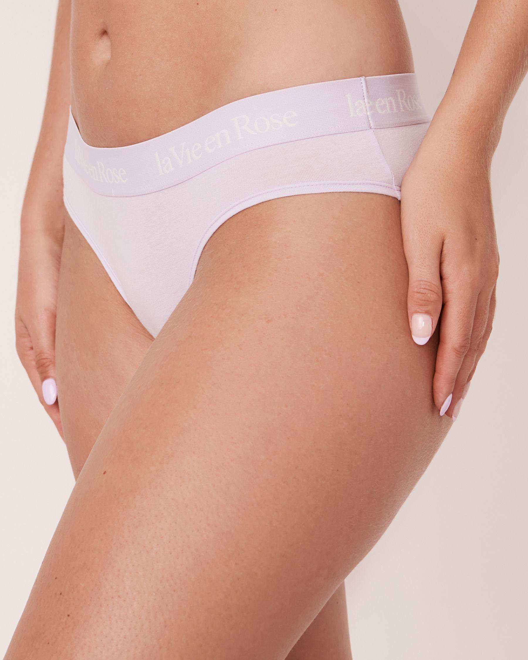 LA VIE EN ROSE Bikini Panty Light lilac 20100069 - View1