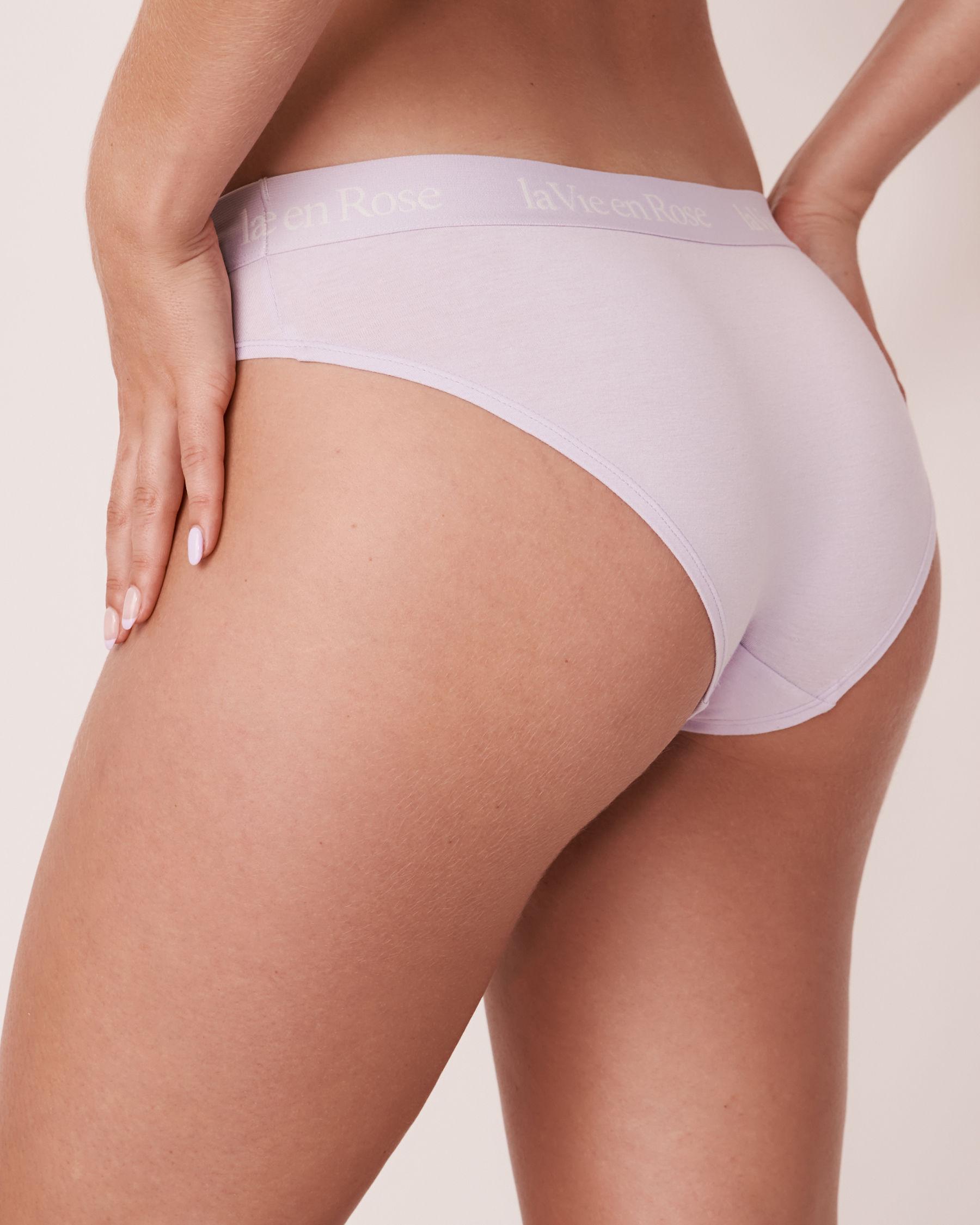 LA VIE EN ROSE Bikini Panty Light lilac 20100069 - View2