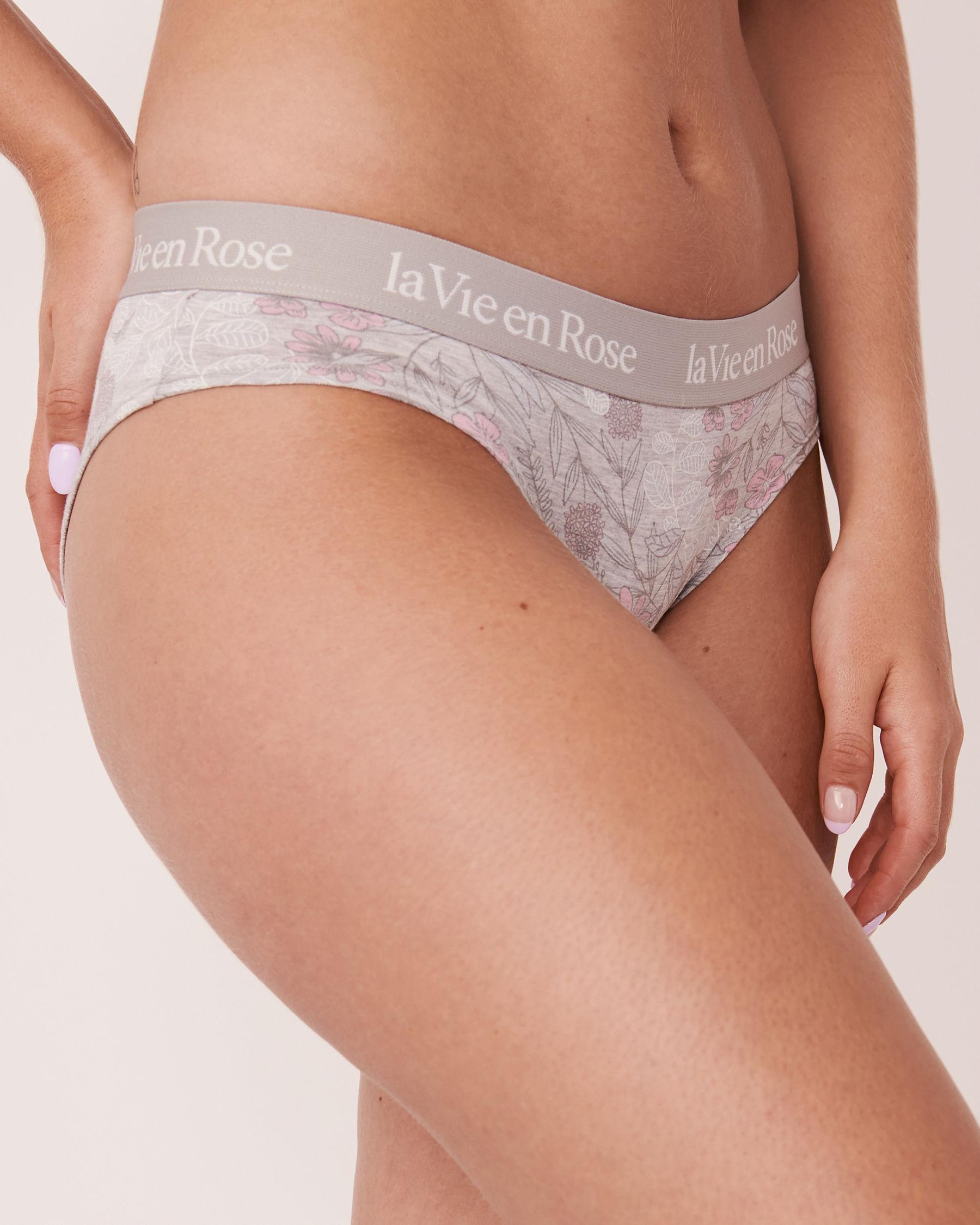 LA VIE EN ROSE Bikini Panty Leafs and flowers 20100069 - View1