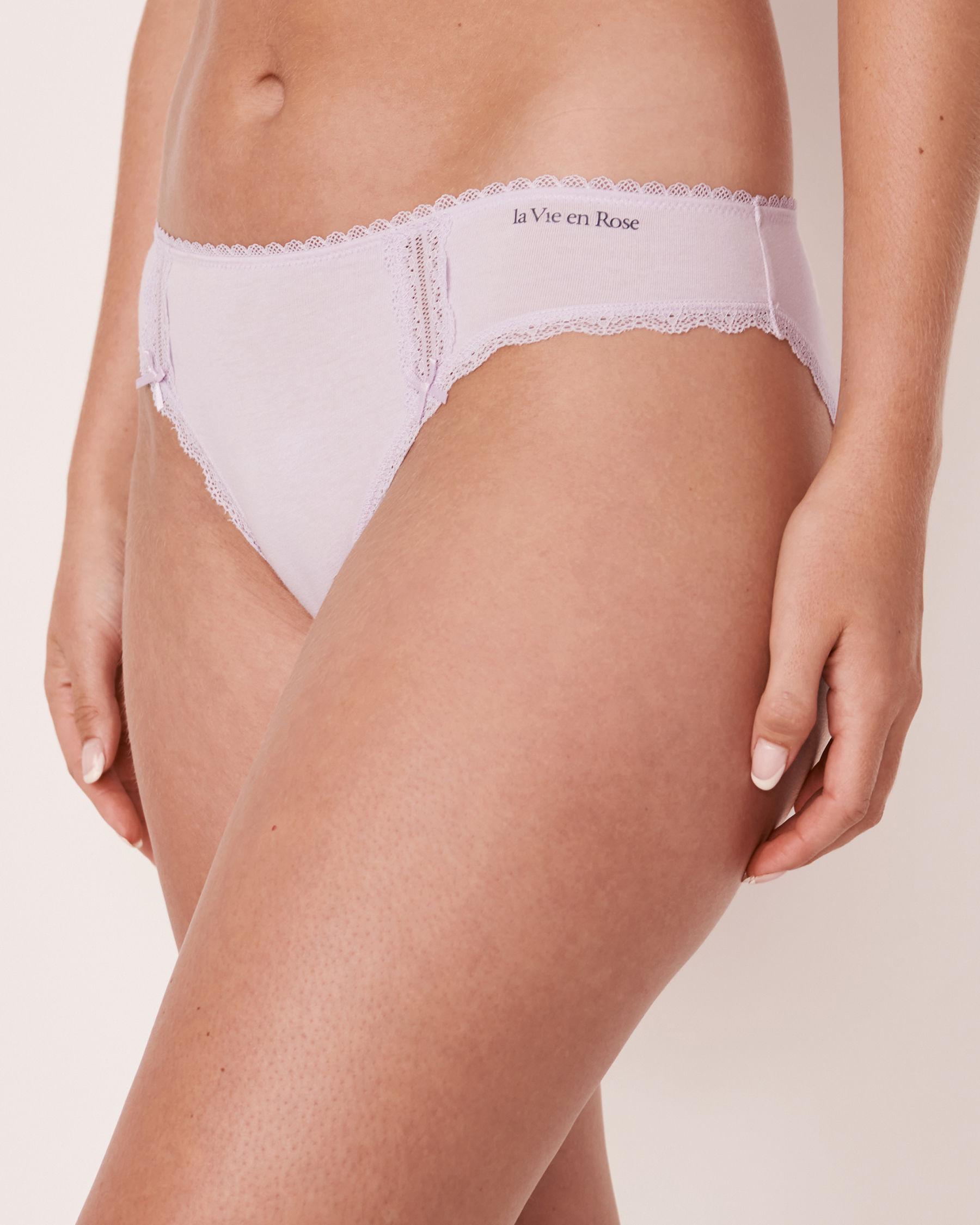 LA VIE EN ROSE Bikini Panty Lavender 20100072 - View1