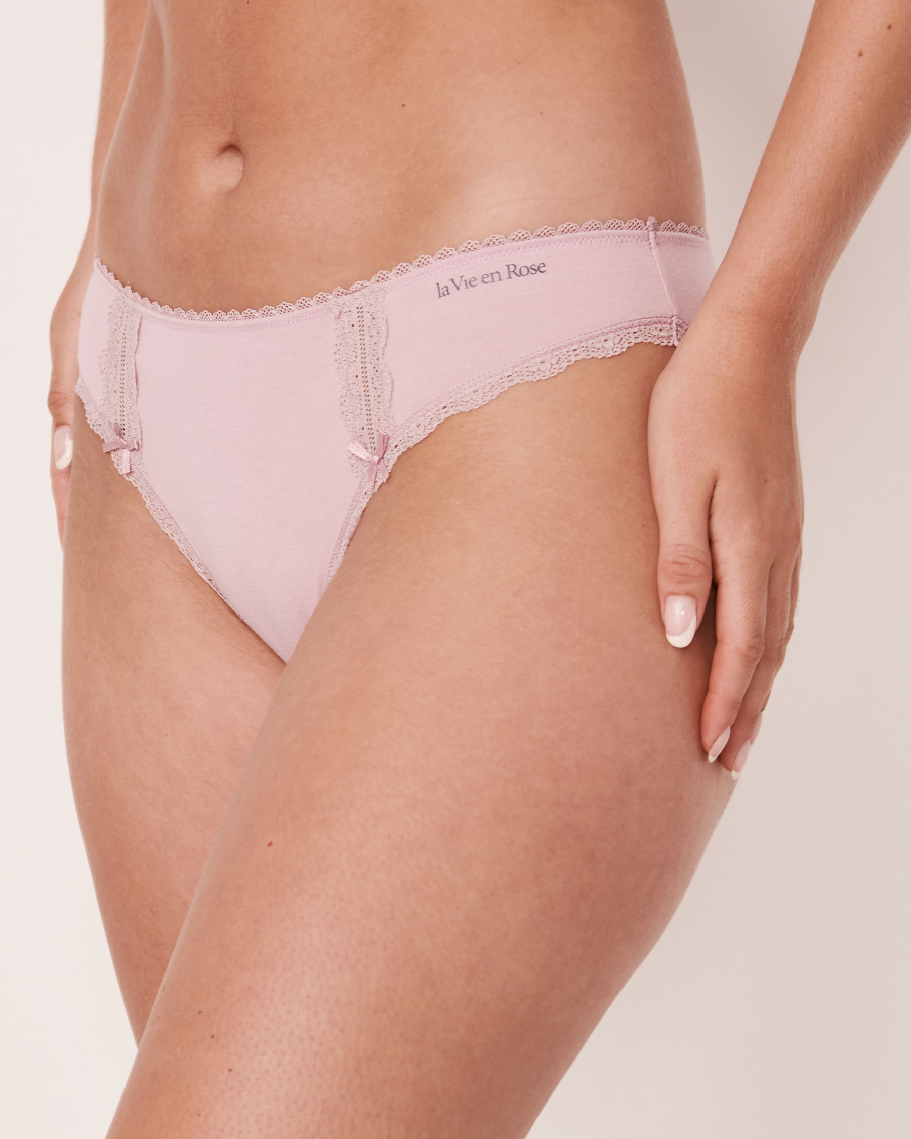 LA VIE EN ROSE Bikini Panty Lilac 20100072 - View1