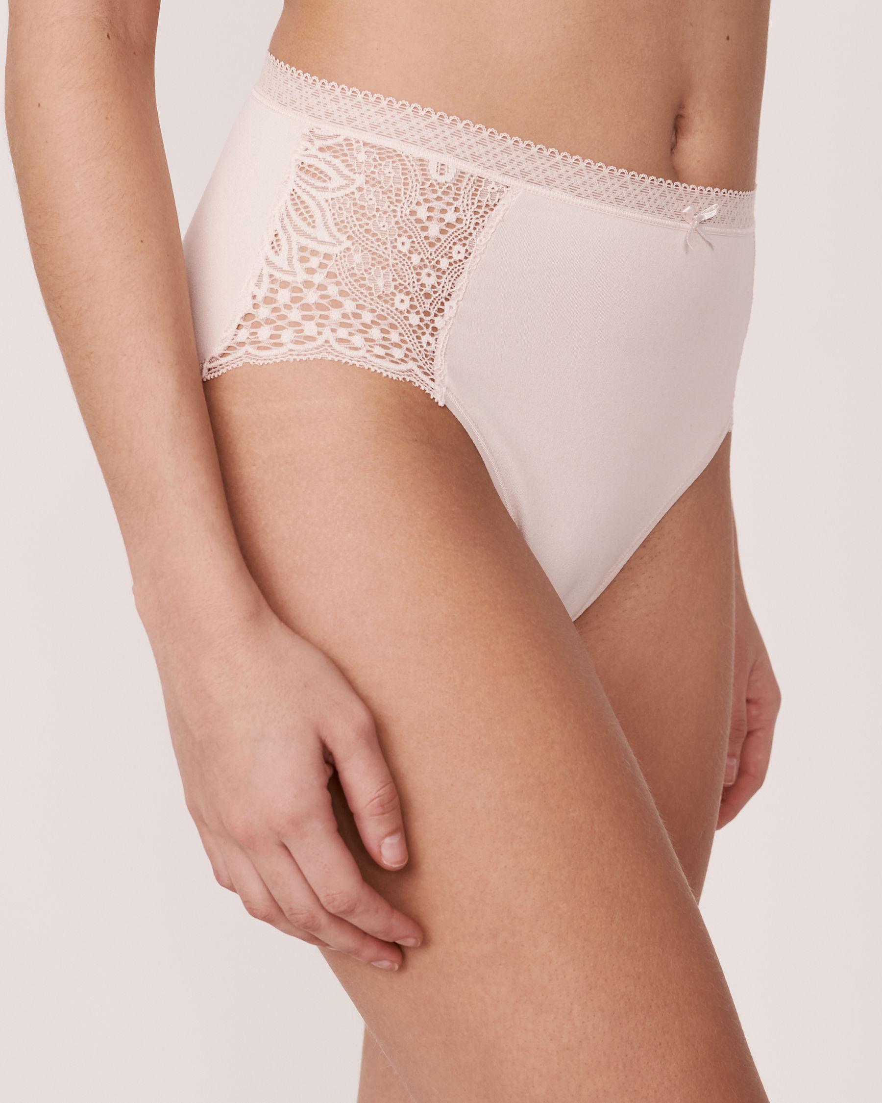 LA VIE EN ROSE High Waist Bikini Panty Soft lilac 20100023 - View1