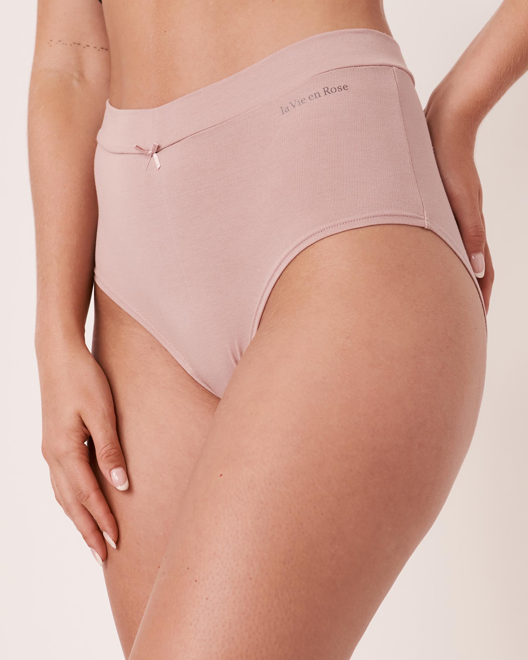 LA VIE EN ROSE High Waist Bikini Panty Purple 20100067 - View1