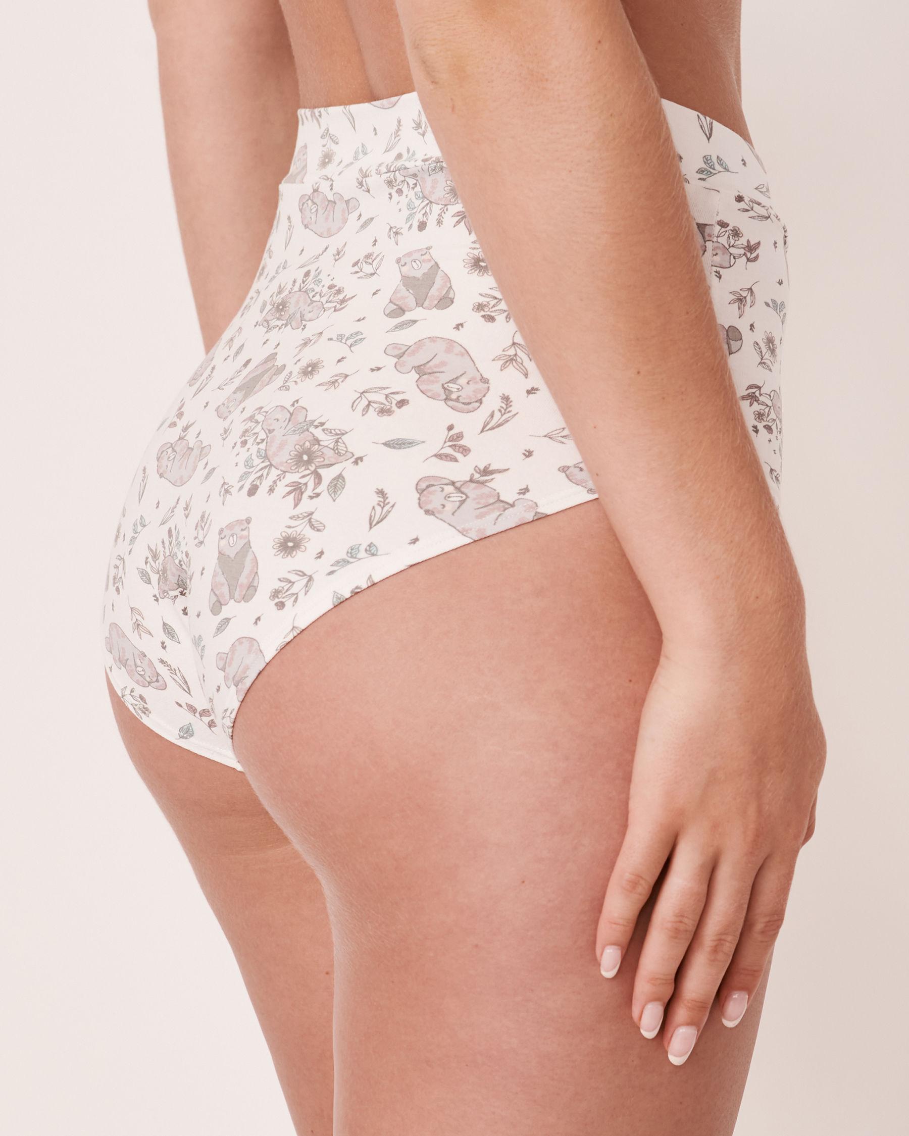 LA VIE EN ROSE High Waist Bikini Panty Bear 20100067 - View2