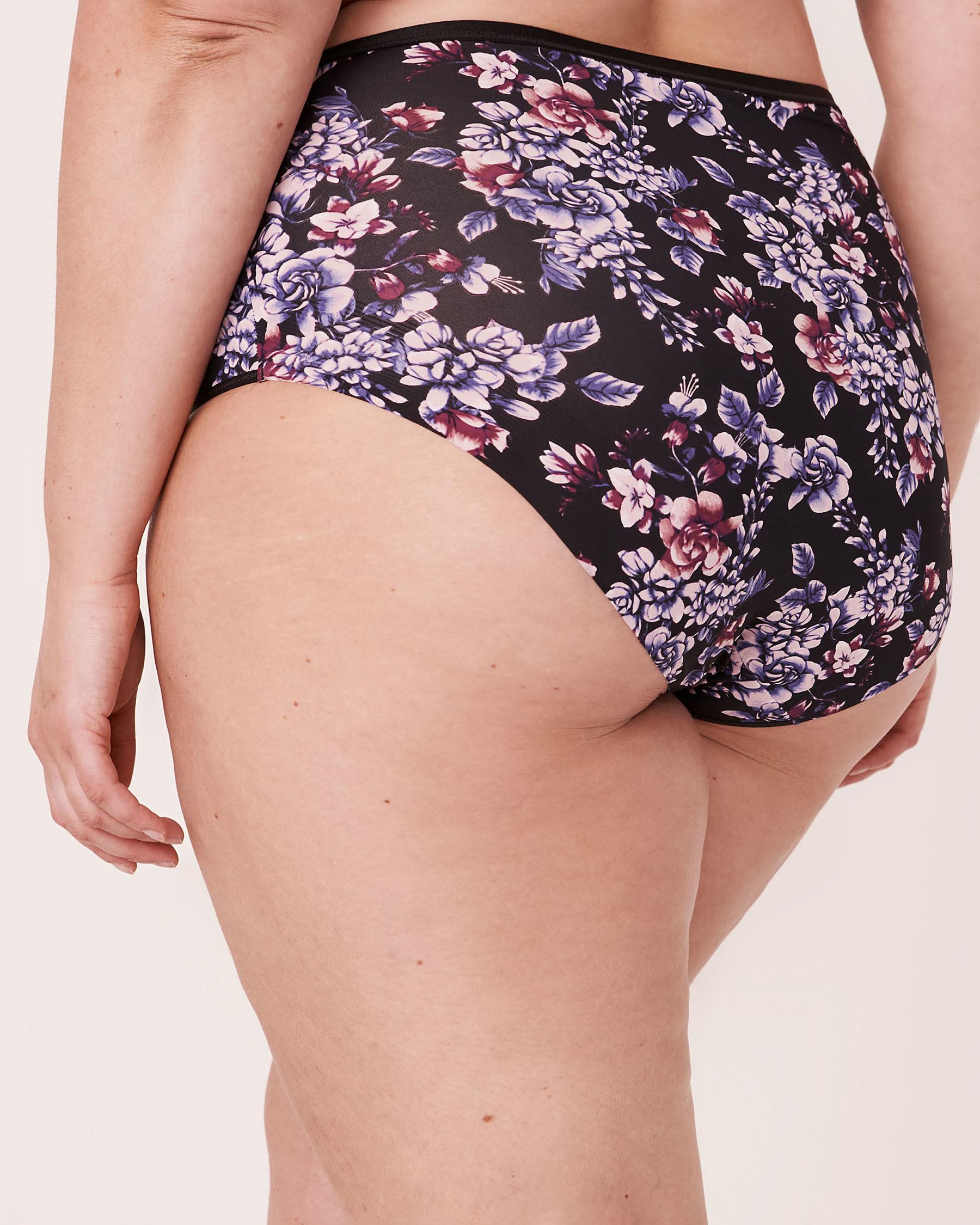 LA VIE EN ROSE High Waist Bikini Panty Watercolor florals 20300049 - View2