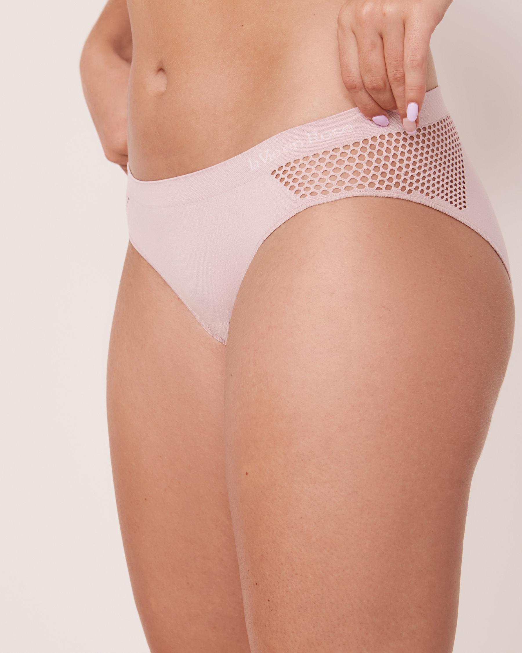 LA VIE EN ROSE Seamless Bikini Panty Lilac 20200084 - View1