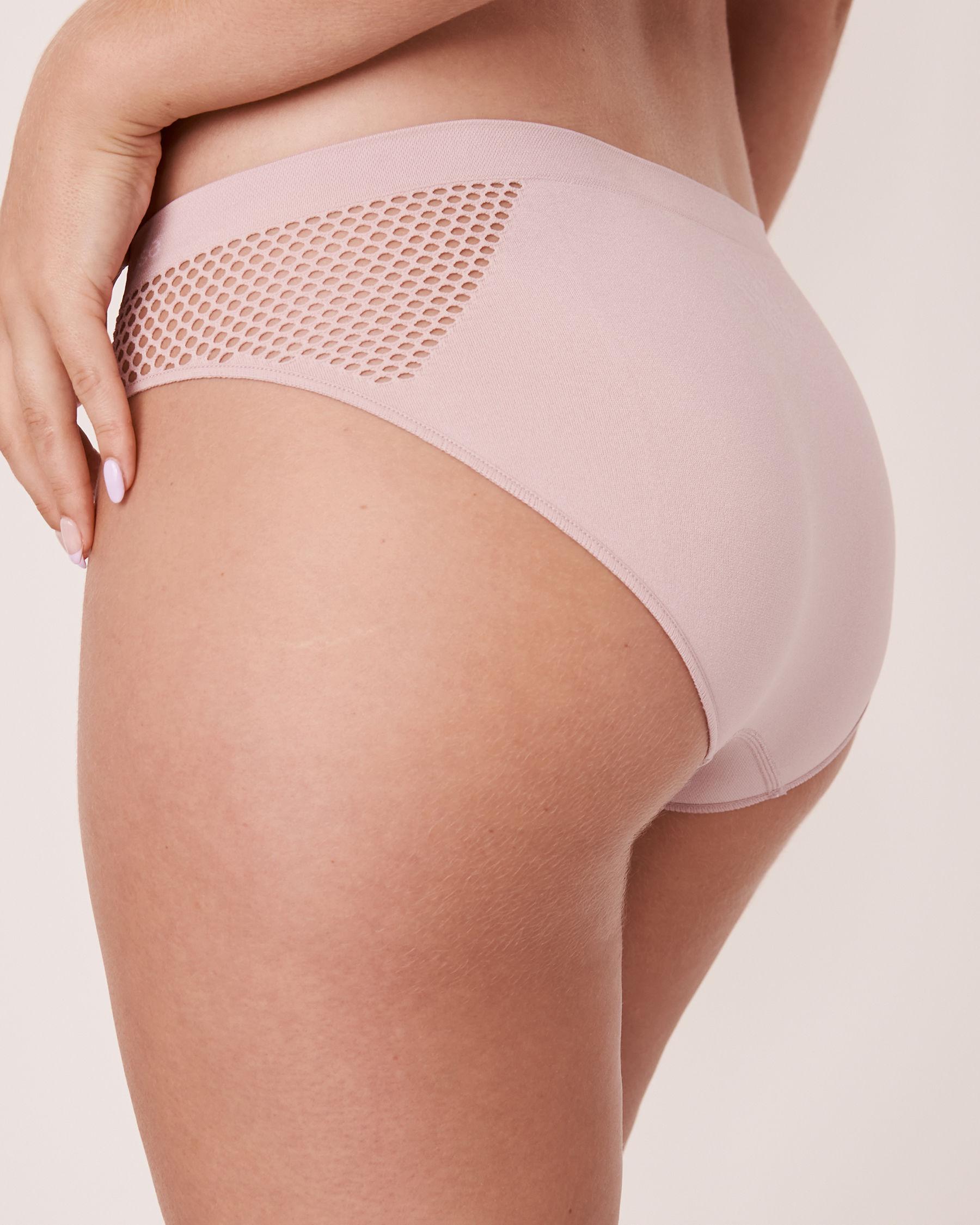 LA VIE EN ROSE Seamless Bikini Panty Lilac 20200084 - View2