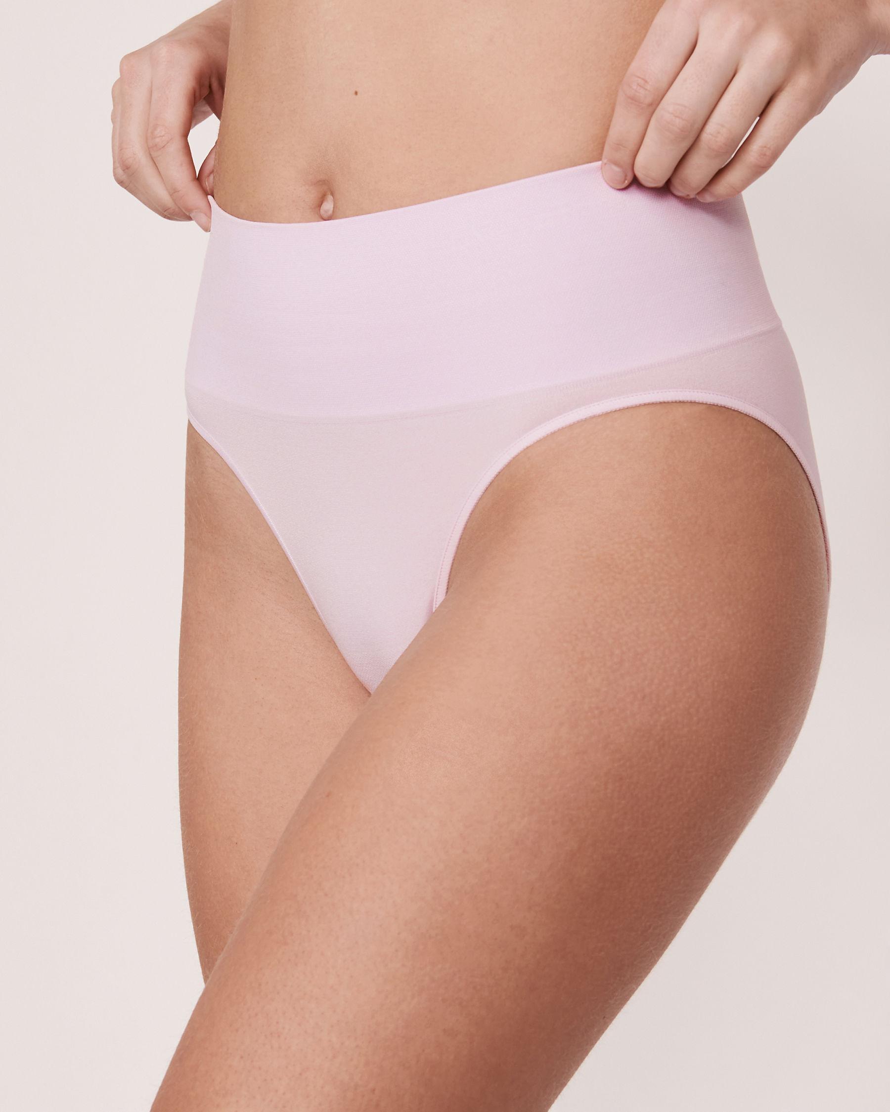 LA VIE EN ROSE Seamless High Waist Bikini Panty Lilac 20200027 - View1