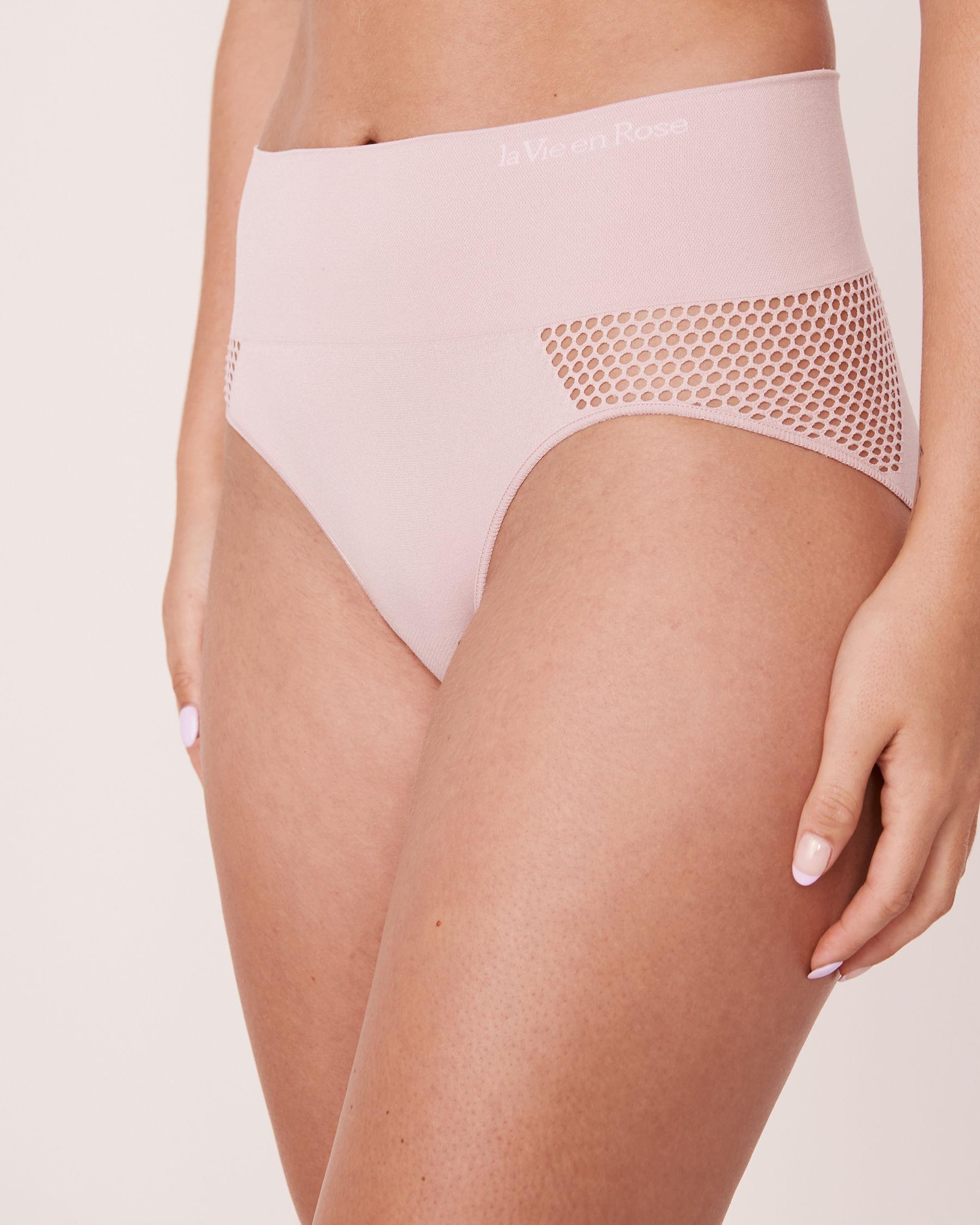 LA VIE EN ROSE Seamless High Waist Bikini Panty Lilac 20200085 - View1