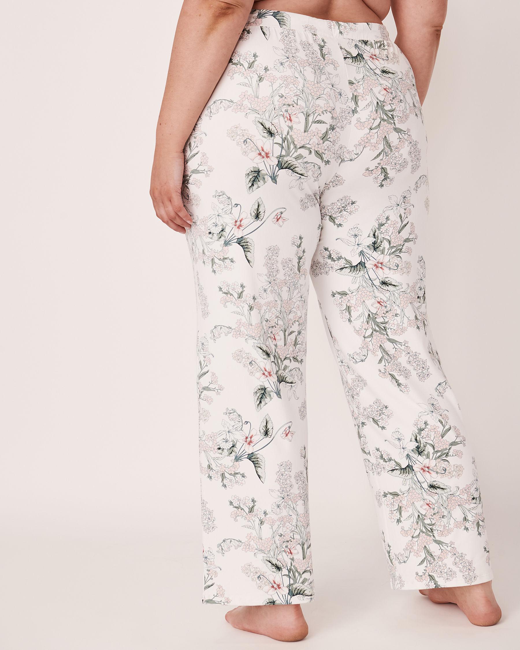 LA VIE EN ROSE Wide Leg Pant Flower bouquet 40200073 - View2