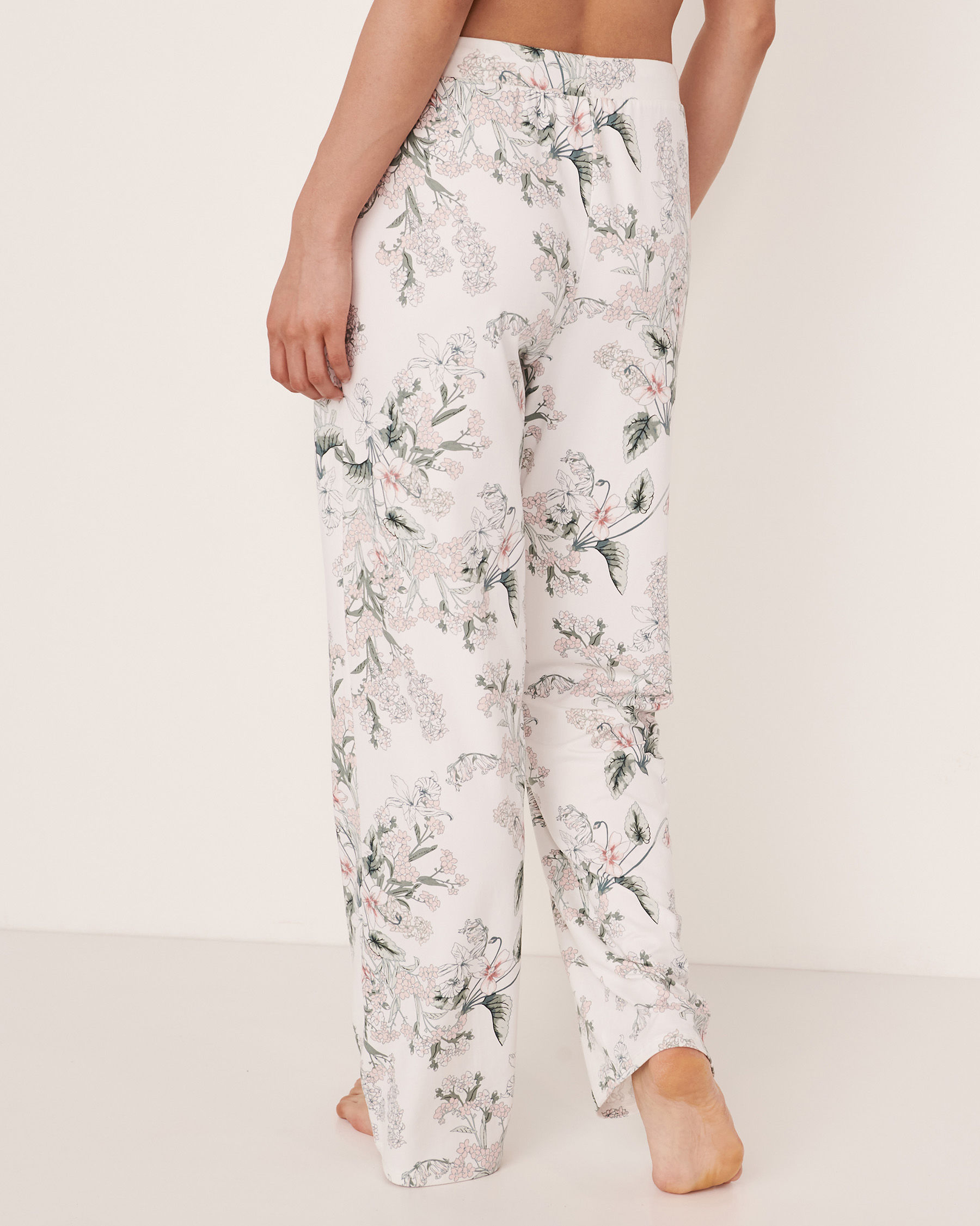 LA VIE EN ROSE Wide Leg Pant Flower bouquet 40200073 - View4