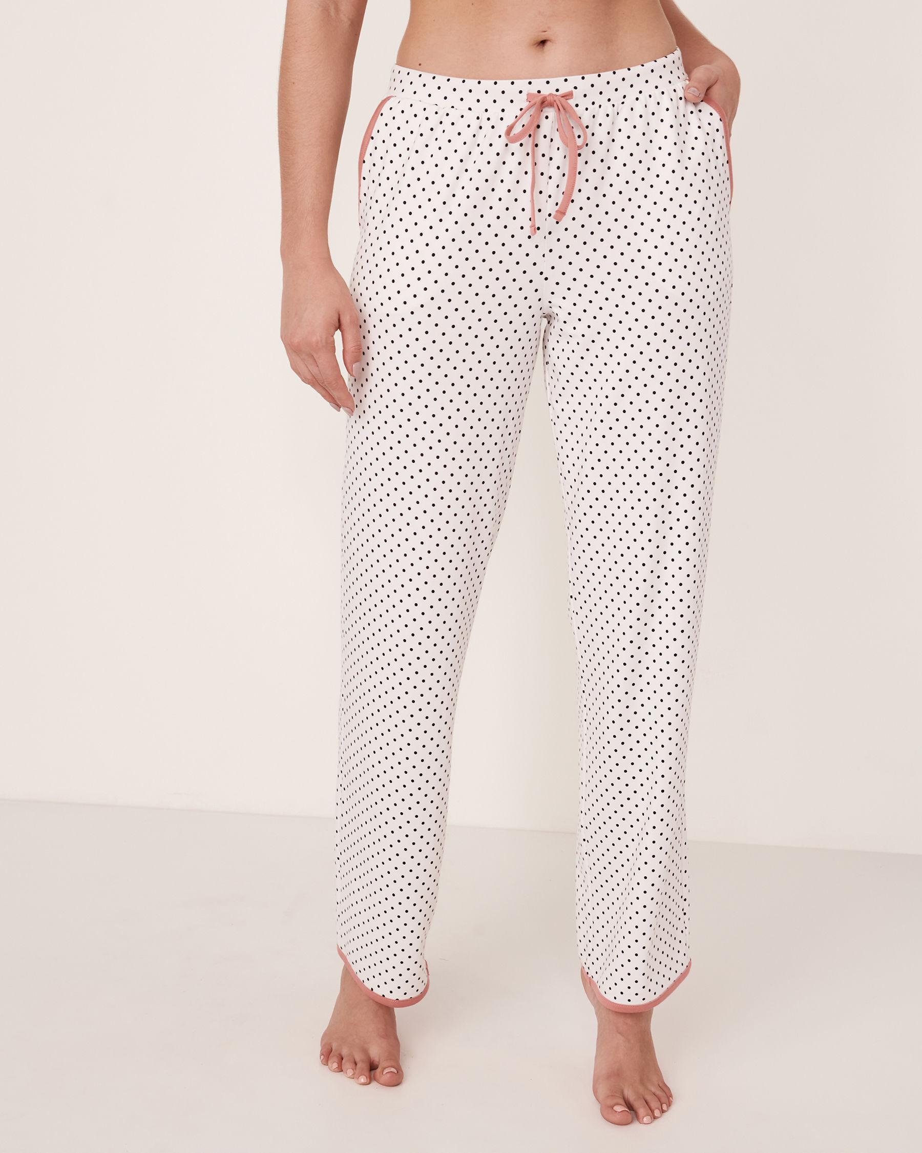 LA VIE EN ROSE 3D Cat Pyjama Pant Black dot 40200083 - View3