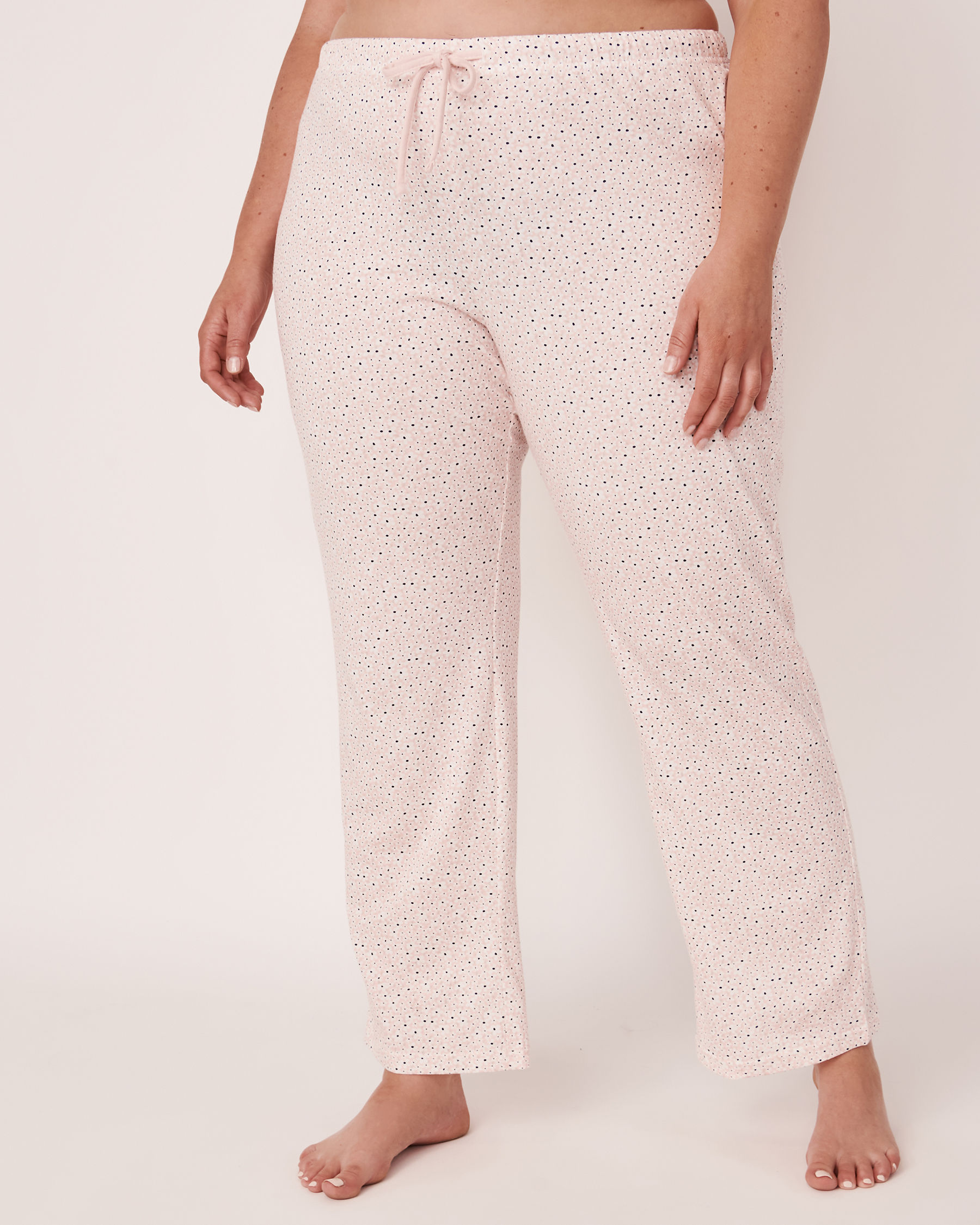 LA VIE EN ROSE Straight Leg Pyjama Pant Flowers 40200110 - View1