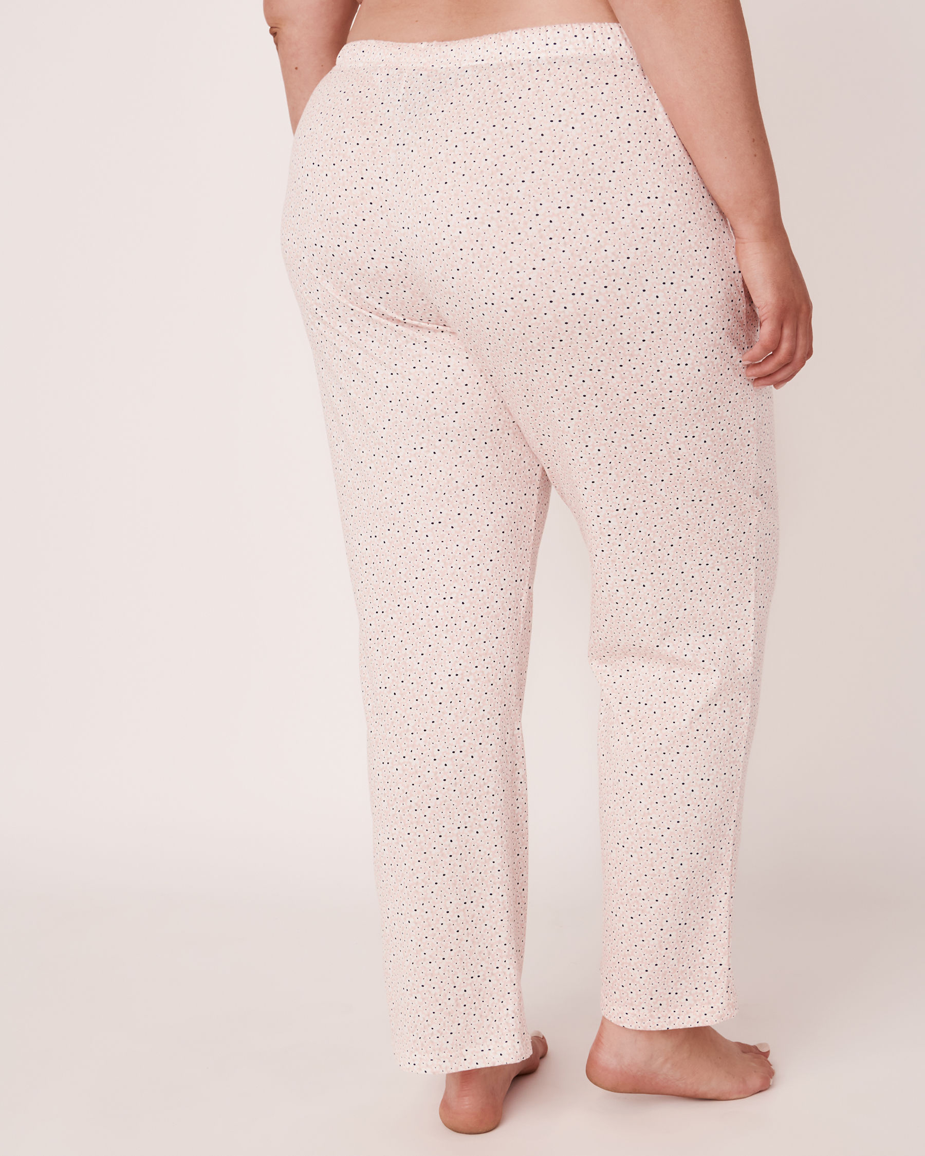 LA VIE EN ROSE Straight Leg Pyjama Pant Flowers 40200110 - View2