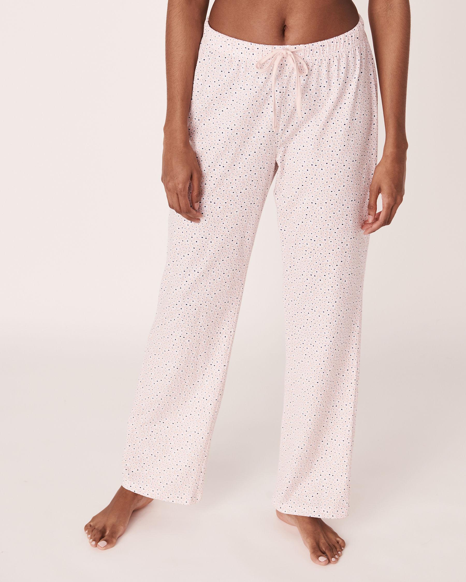 LA VIE EN ROSE Straight Leg Pyjama Pant Flowers 40200110 - View3