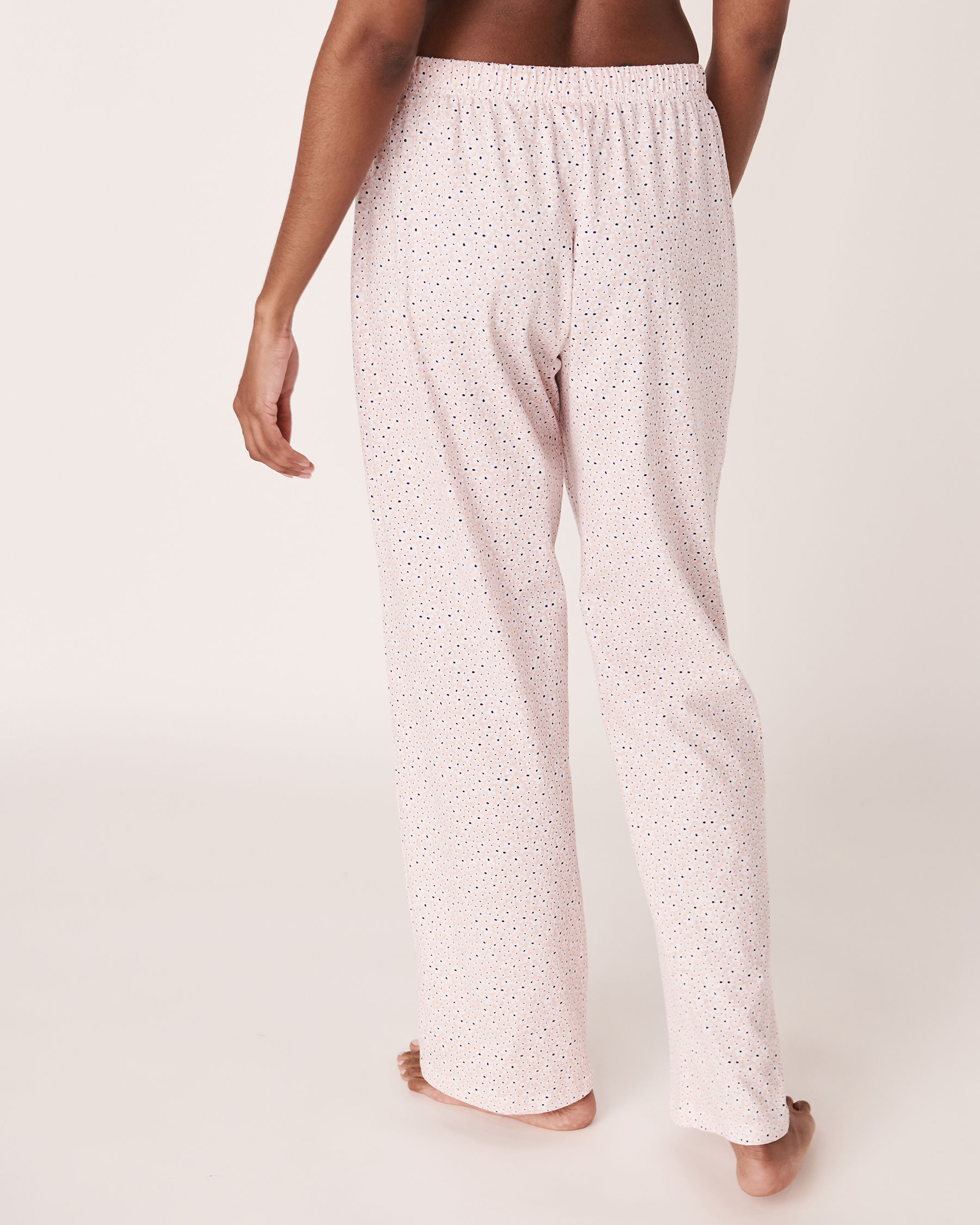 LA VIE EN ROSE Straight Leg Pyjama Pant Flowers 40200110 - View4