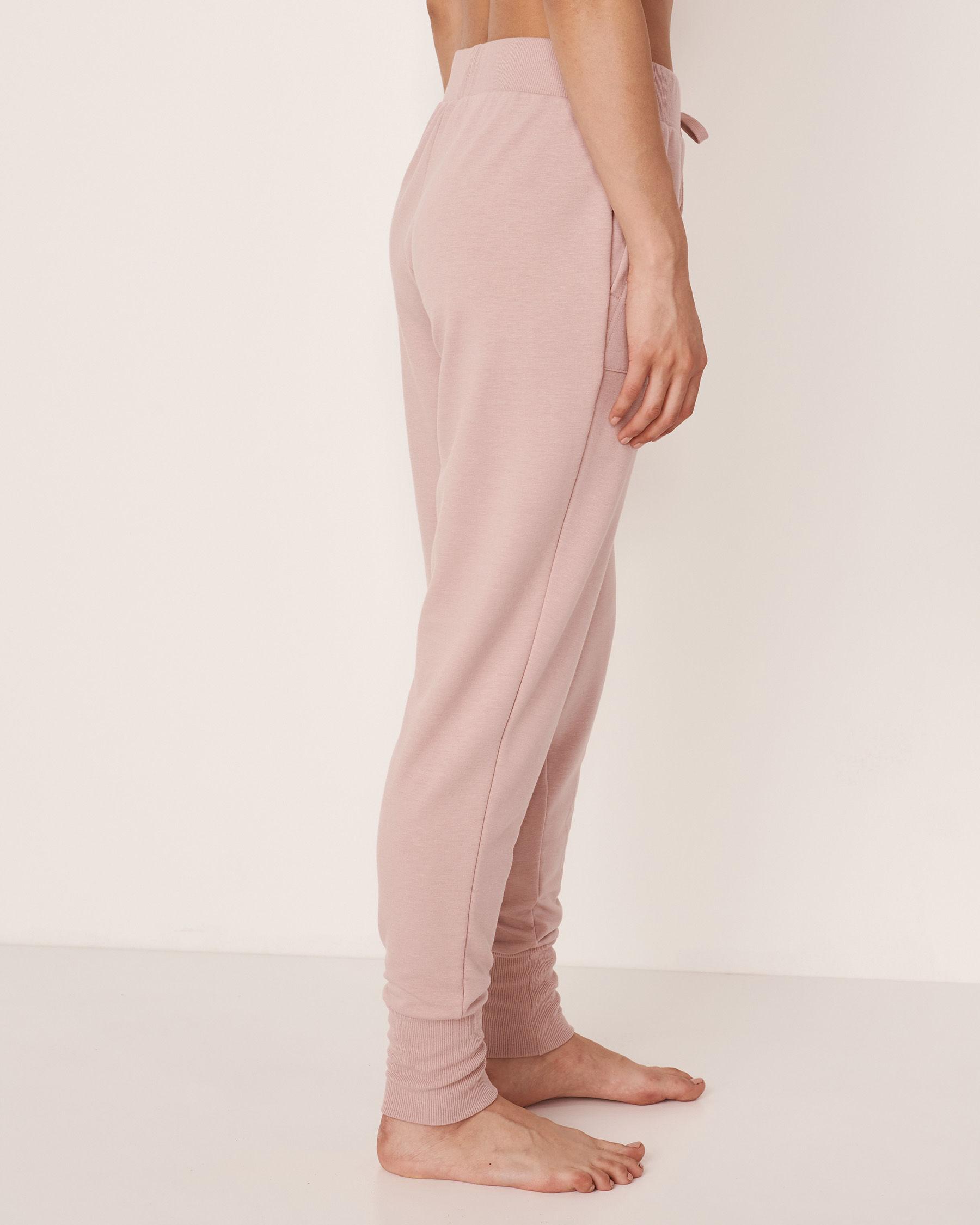 LA VIE EN ROSE Ribbed Waistband Pant Shadow grey 50200010 - View2