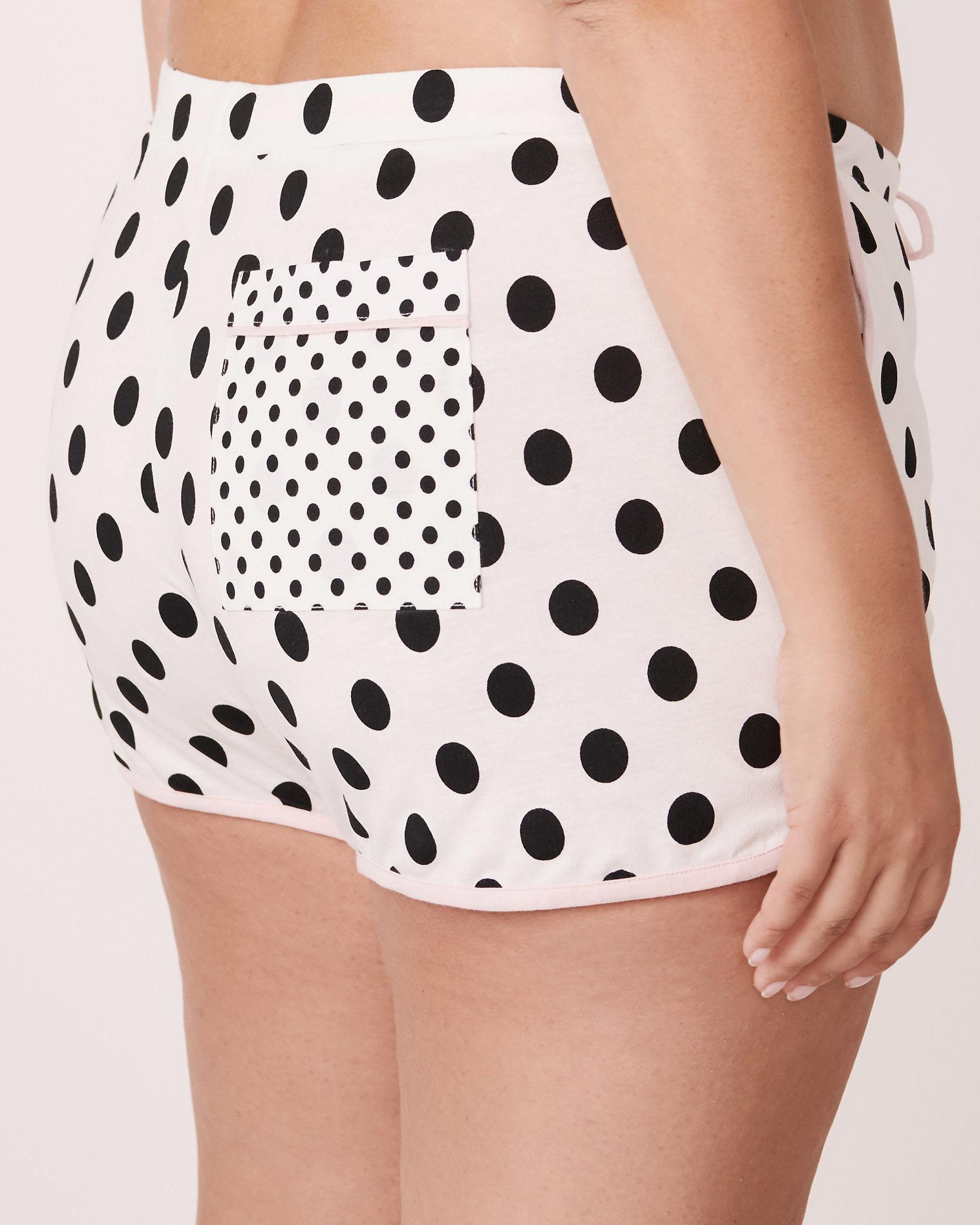 LA VIE EN ROSE Pockets Short Polka dots 770-317-0-11 - View2