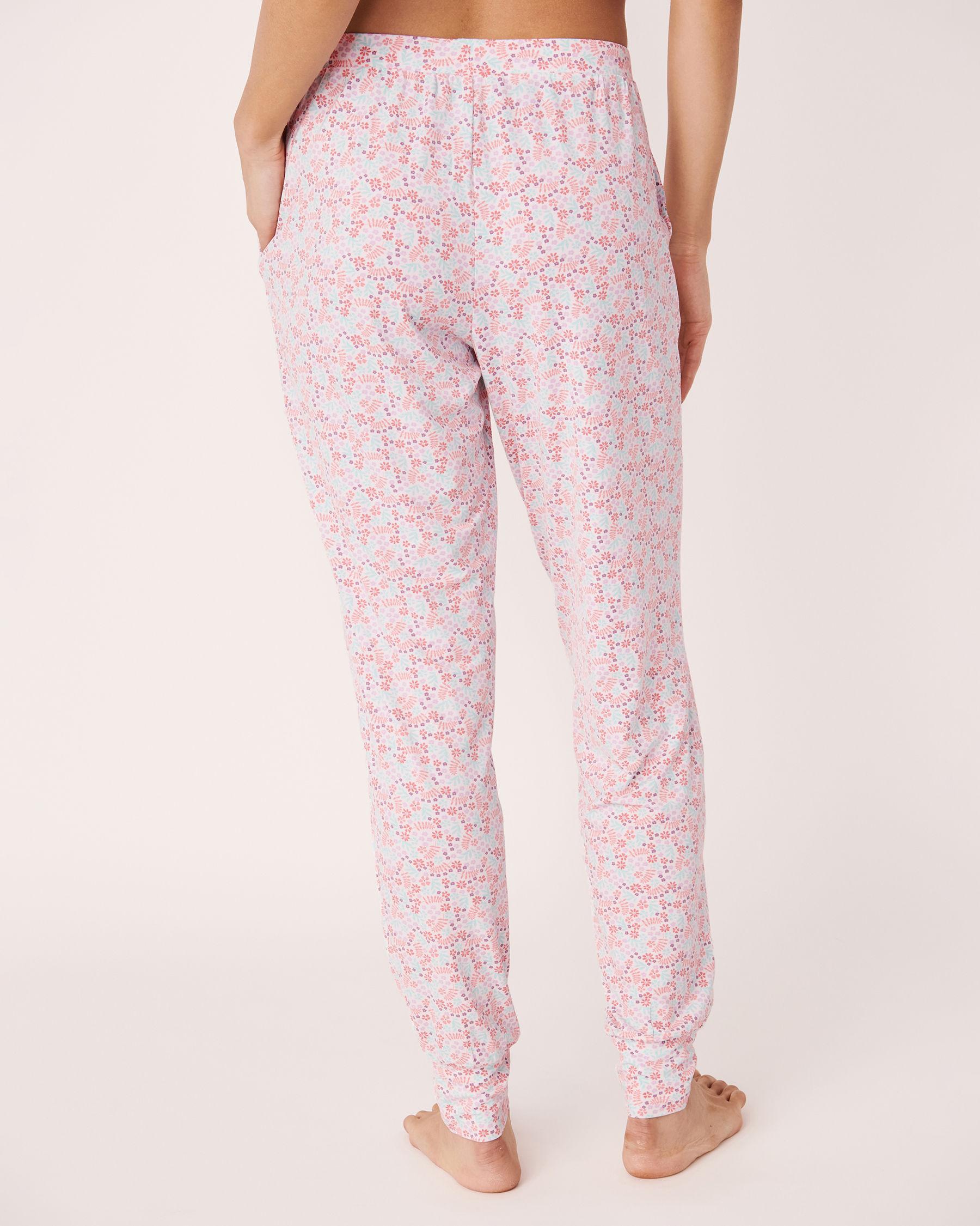 LA VIE EN ROSE Fitted Pyjama Pant Ditsy floral 40200056 - View2
