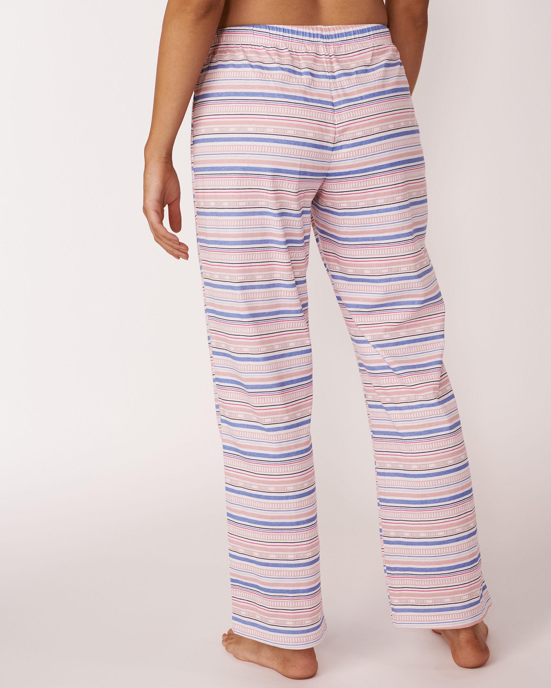 LA VIE EN ROSE Pantalon jambe droite Imprimé multicolore 40200018 - Voir2