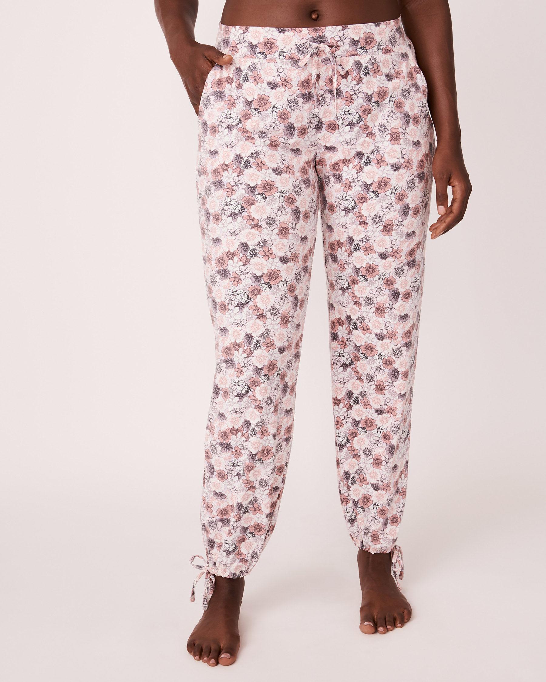 LA VIE EN ROSE Adjustable Pant Floral print 774-319-0-11 - View1
