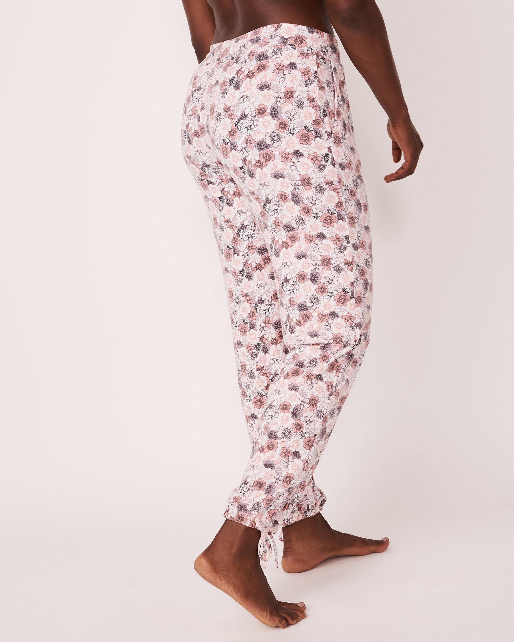 LA VIE EN ROSE Adjustable Pant Floral print 774-319-0-11 - View2