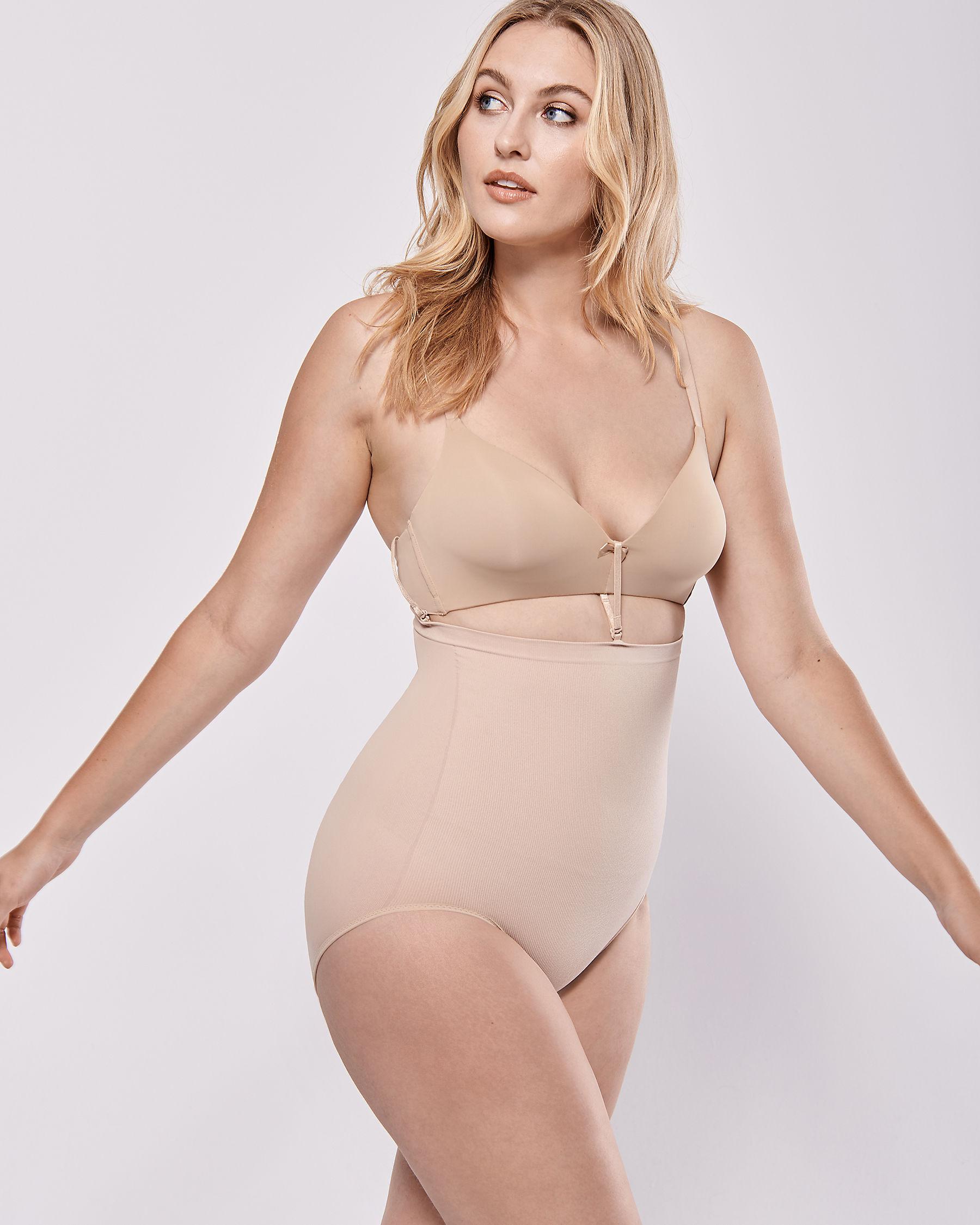 LA VIE EN ROSE Culotte bikini soutien léger Neutre 388-122-0-00 - Voir3