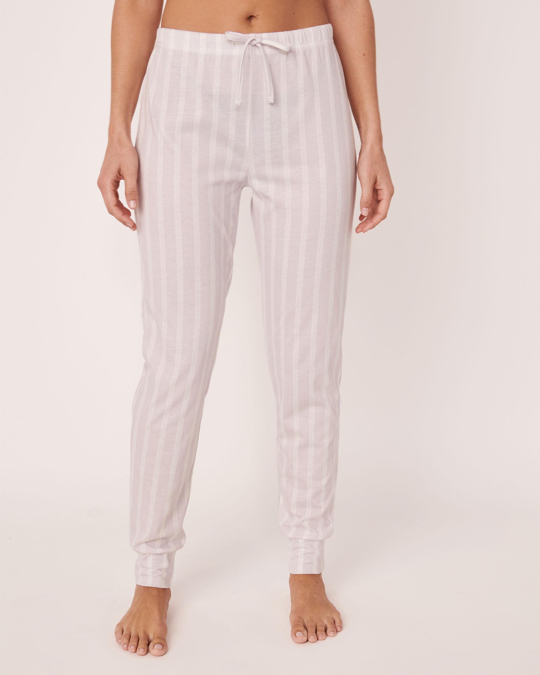 LA VIE EN ROSE Fitted Pyjama Pant Stripes 40200157 - View1