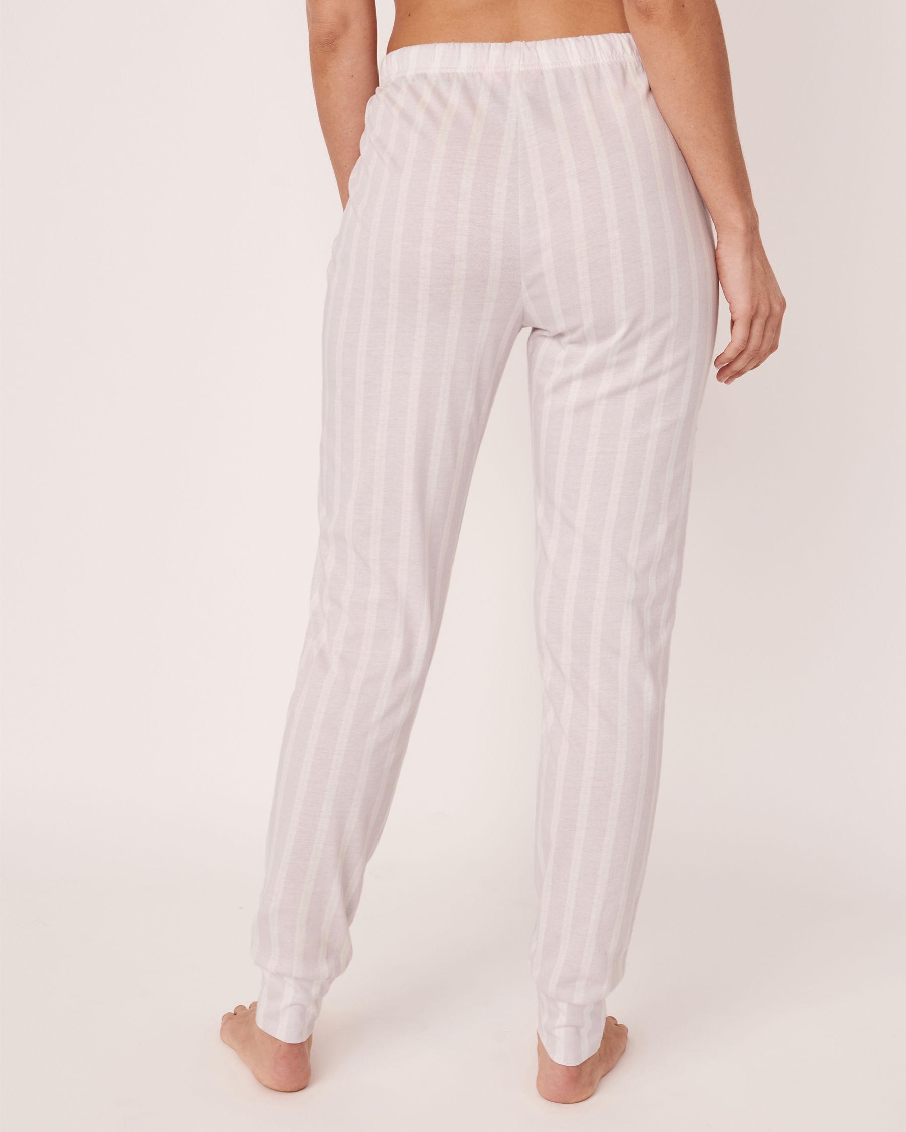 LA VIE EN ROSE Fitted Pyjama Pant Stripes 40200157 - View2